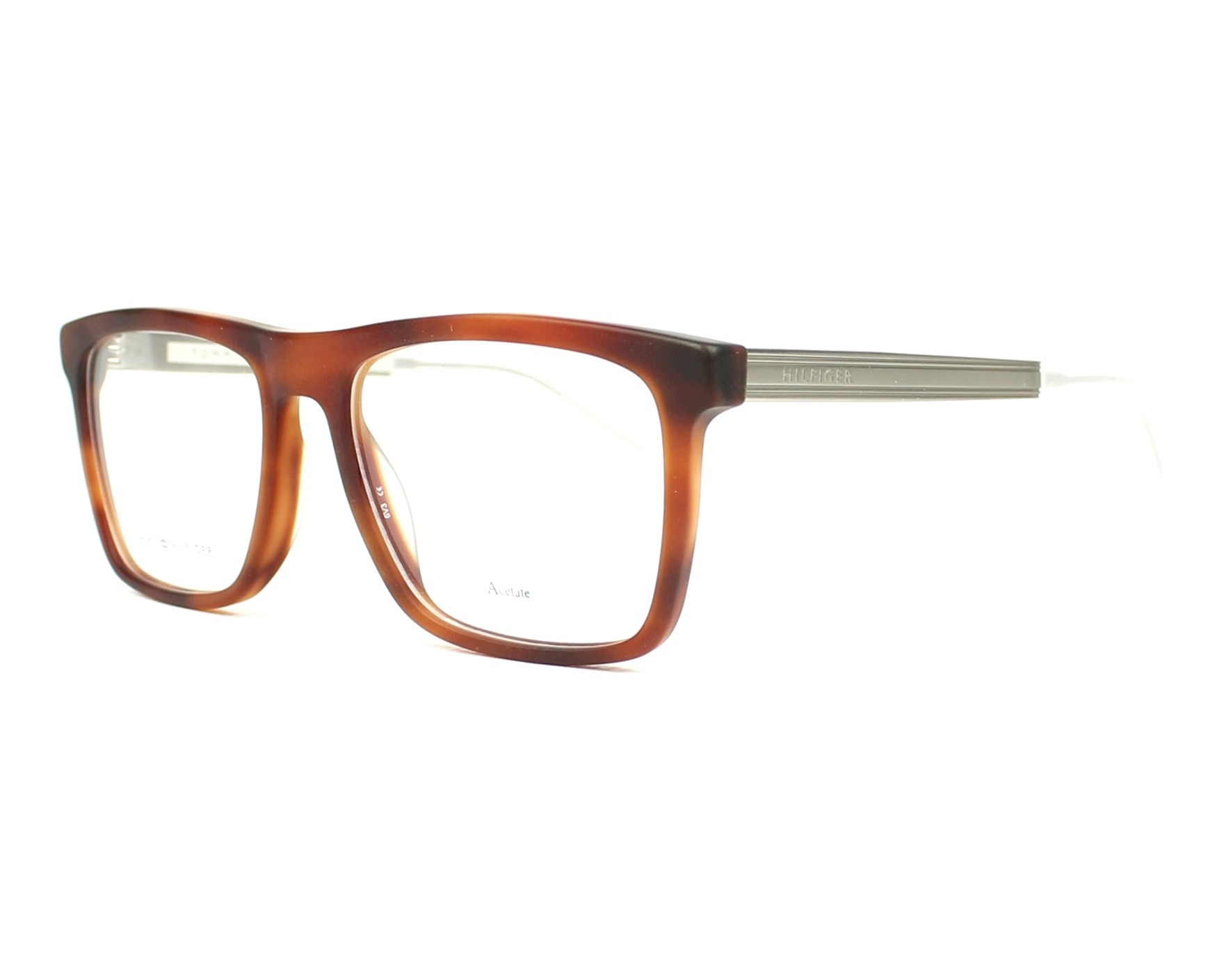 eyeglasses Tommy Hilfiger TH-1436 HBN - Havana Palladium profile view 2cce35a3e3