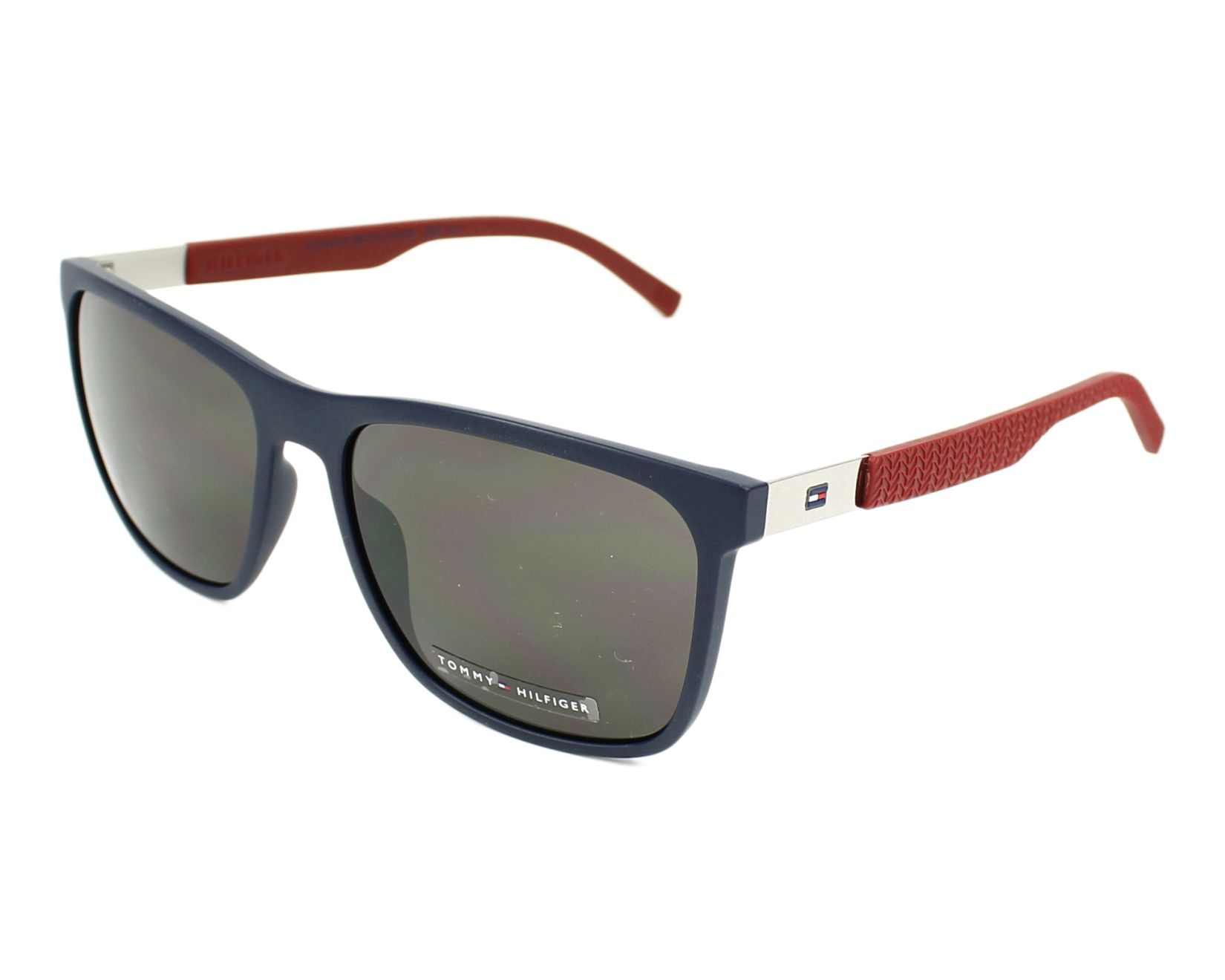 Sunglasses Tommy Hilfiger TH-1445-S LCN/NR - Blue Bordeaux profile view