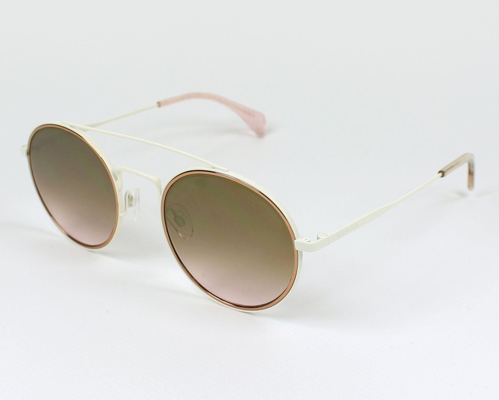 27f1e1bc32c75 Sunglasses Tommy Hilfiger TH-1455-S U1Y JM 53-22 White profile