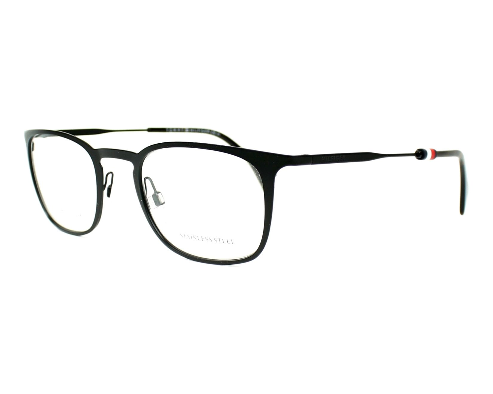 adb04db367d eyeglasses Tommy Hilfiger TH-1473 003 - Black profile view