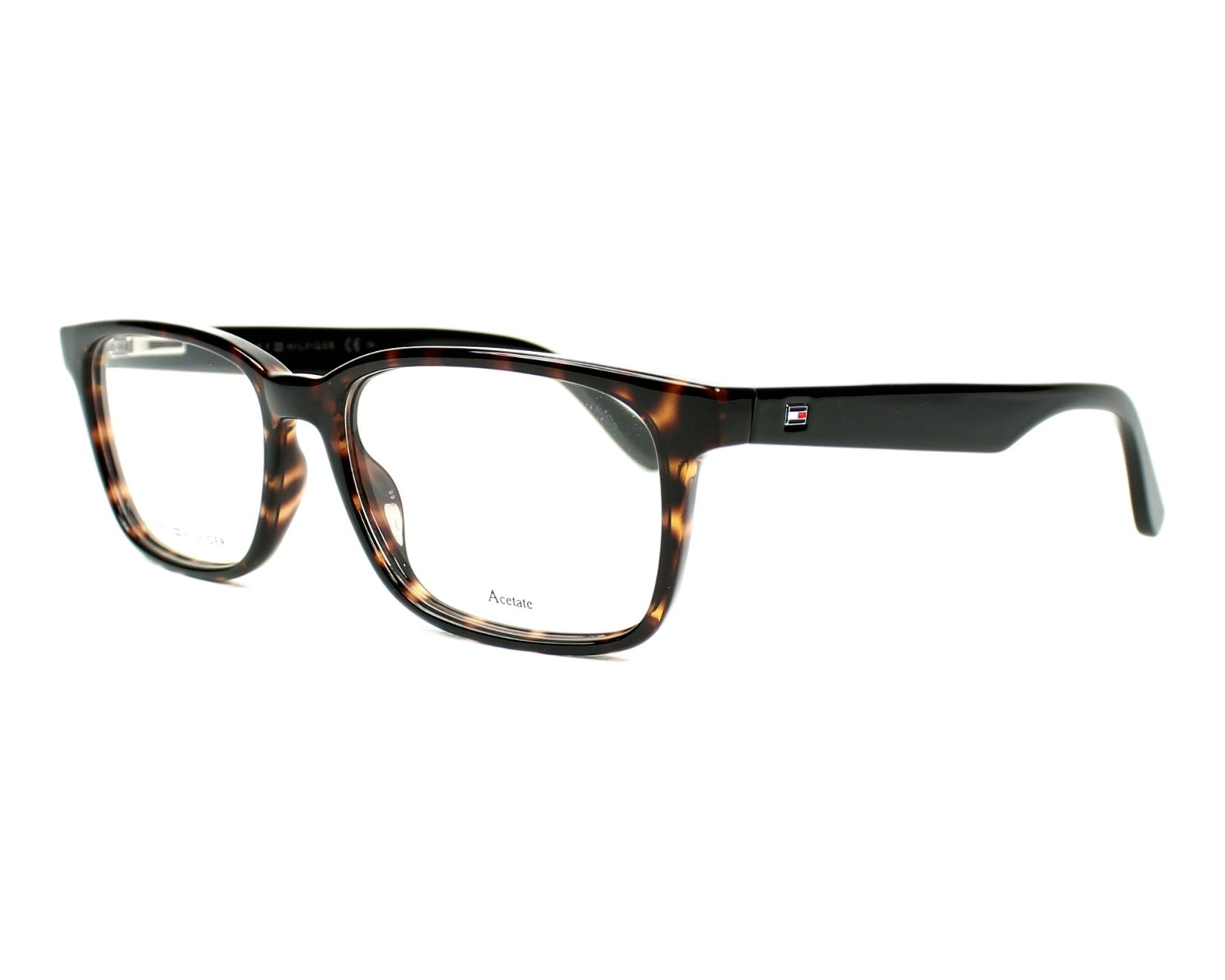eyeglasses Tommy Hilfiger TH-1487 9N4 53-17 Havana Brown profile view