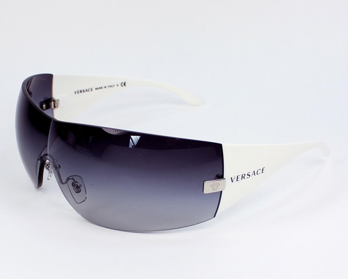 4528cac6de Sunglasses Versace VE-2054 1000 8G 141- White profile view
