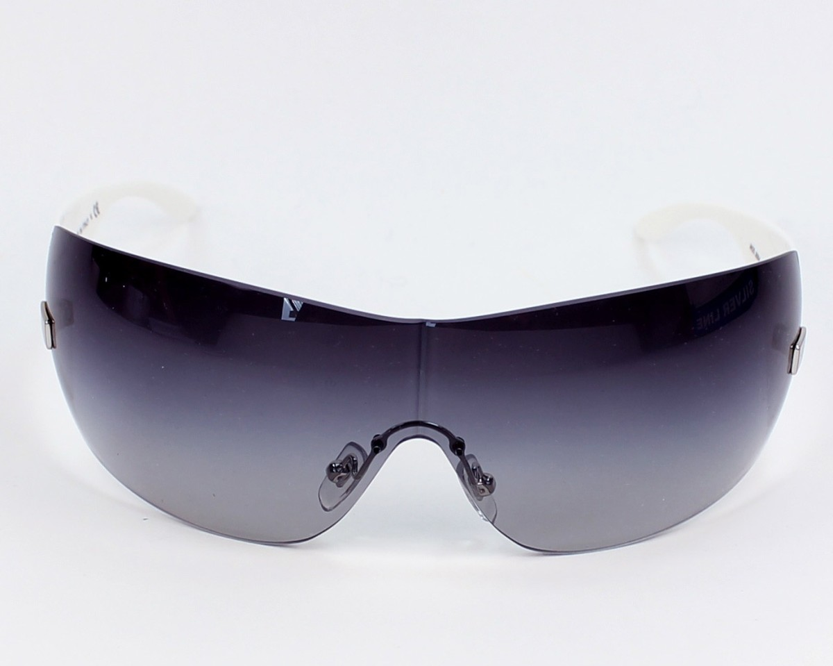 e95b540748f Sunglasses Versace VE-2054 1000 8G 141- White front view