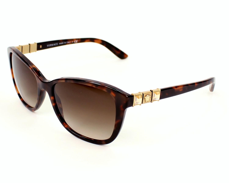 Versace Sunglasses Havana with Brown Lenses VE-4293-B 944/13 ...