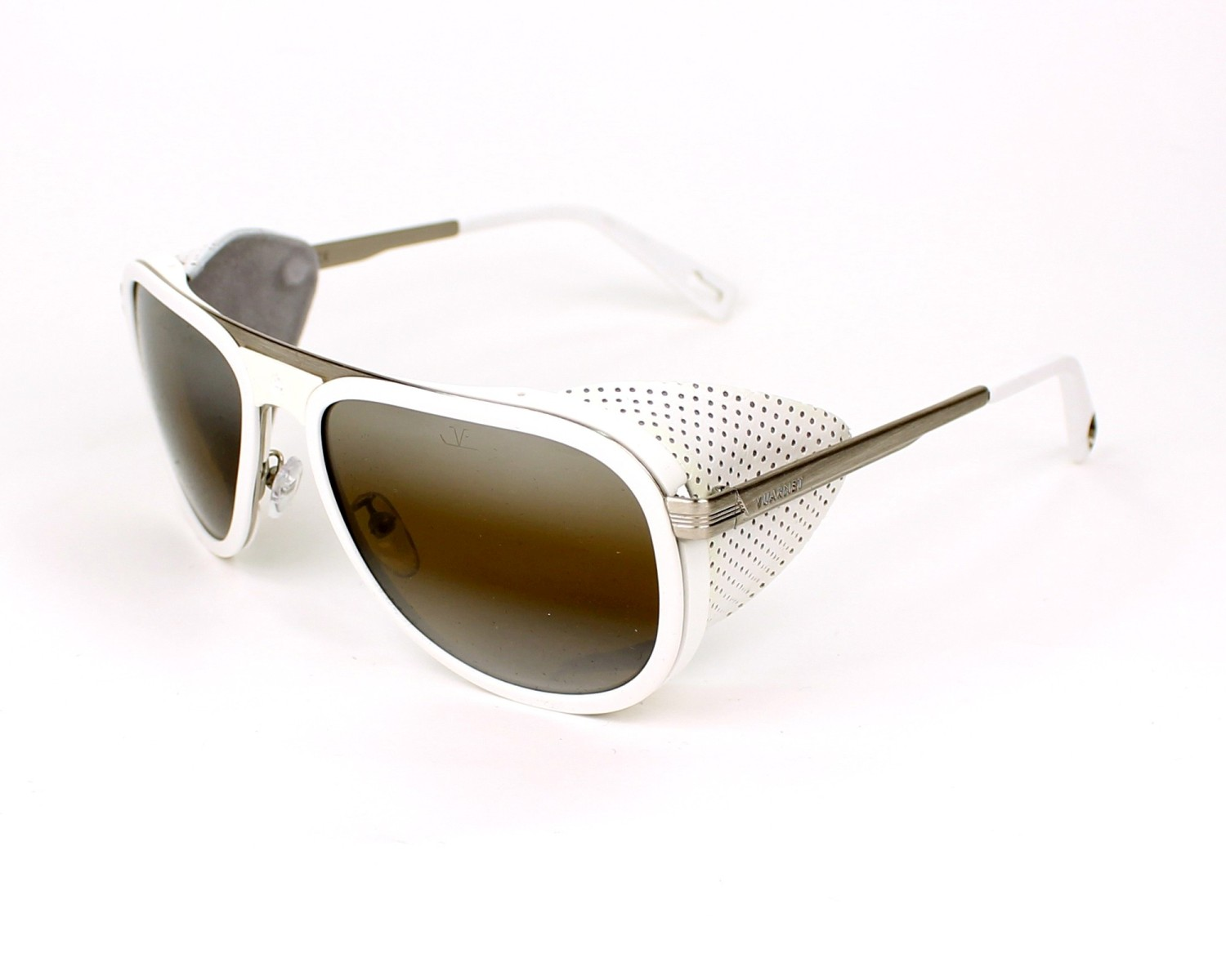 c4677df07a Sunglasses Vuarnet VL-1315 0005 - White Silver profile view