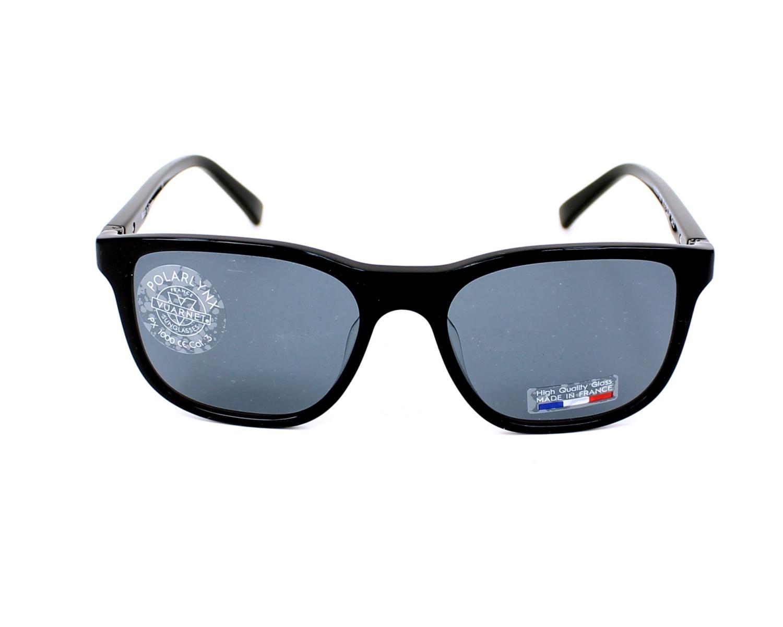 b86dd4ce79 Sunglasses Vuarnet VL-1519 0001 54-19 Black front view