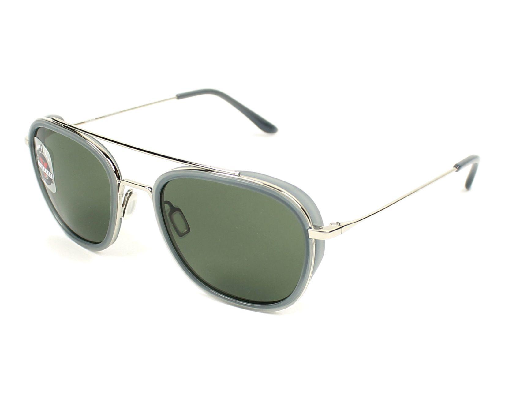 Sunglasses Vuarnet VL-1615 0003-1121 50-18 Silver Grey profile view 5b6cc0835e06