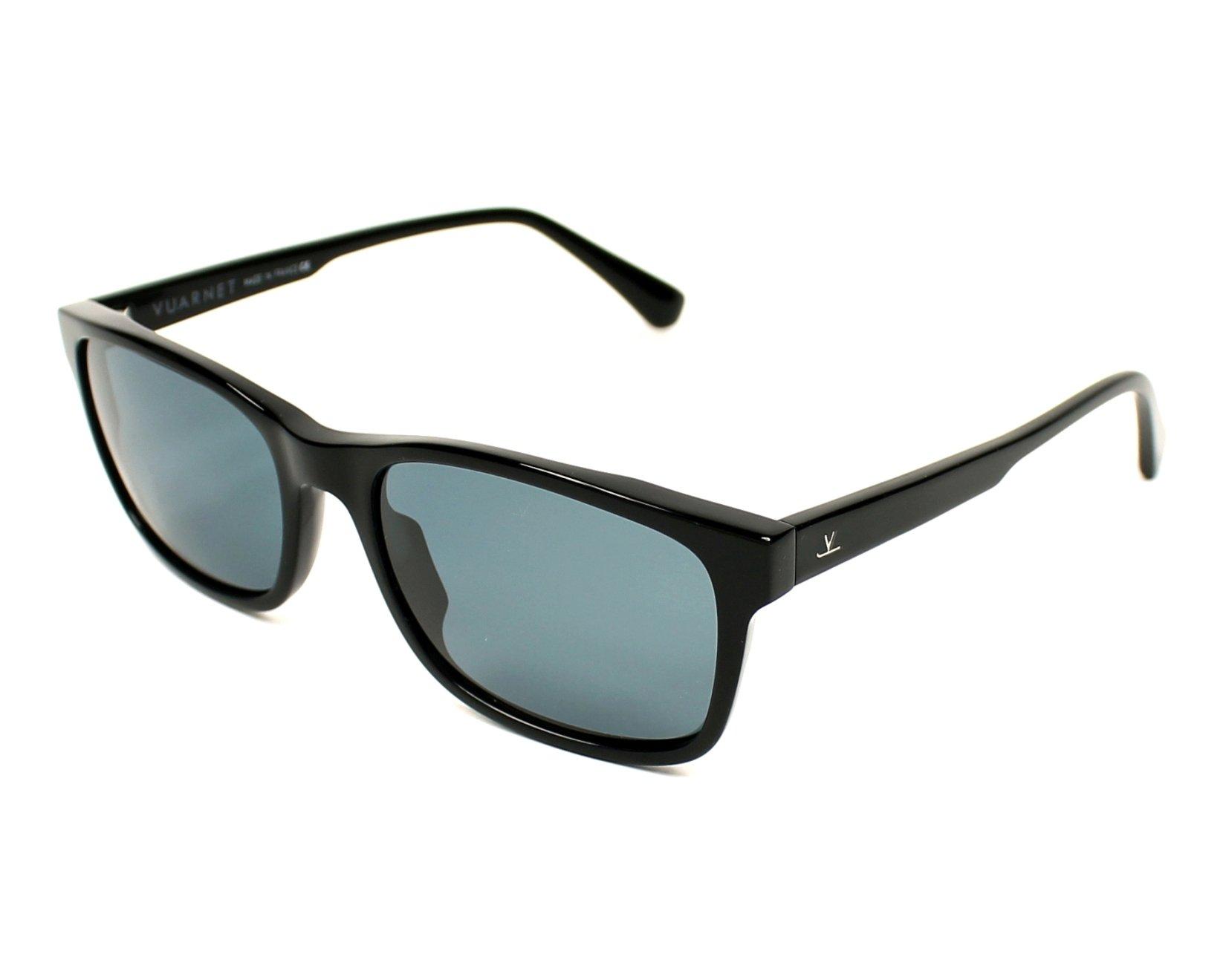 4c7e10be73b Polarized. Sunglasses Vuarnet VL-1617 0001-0622 - Black profile view