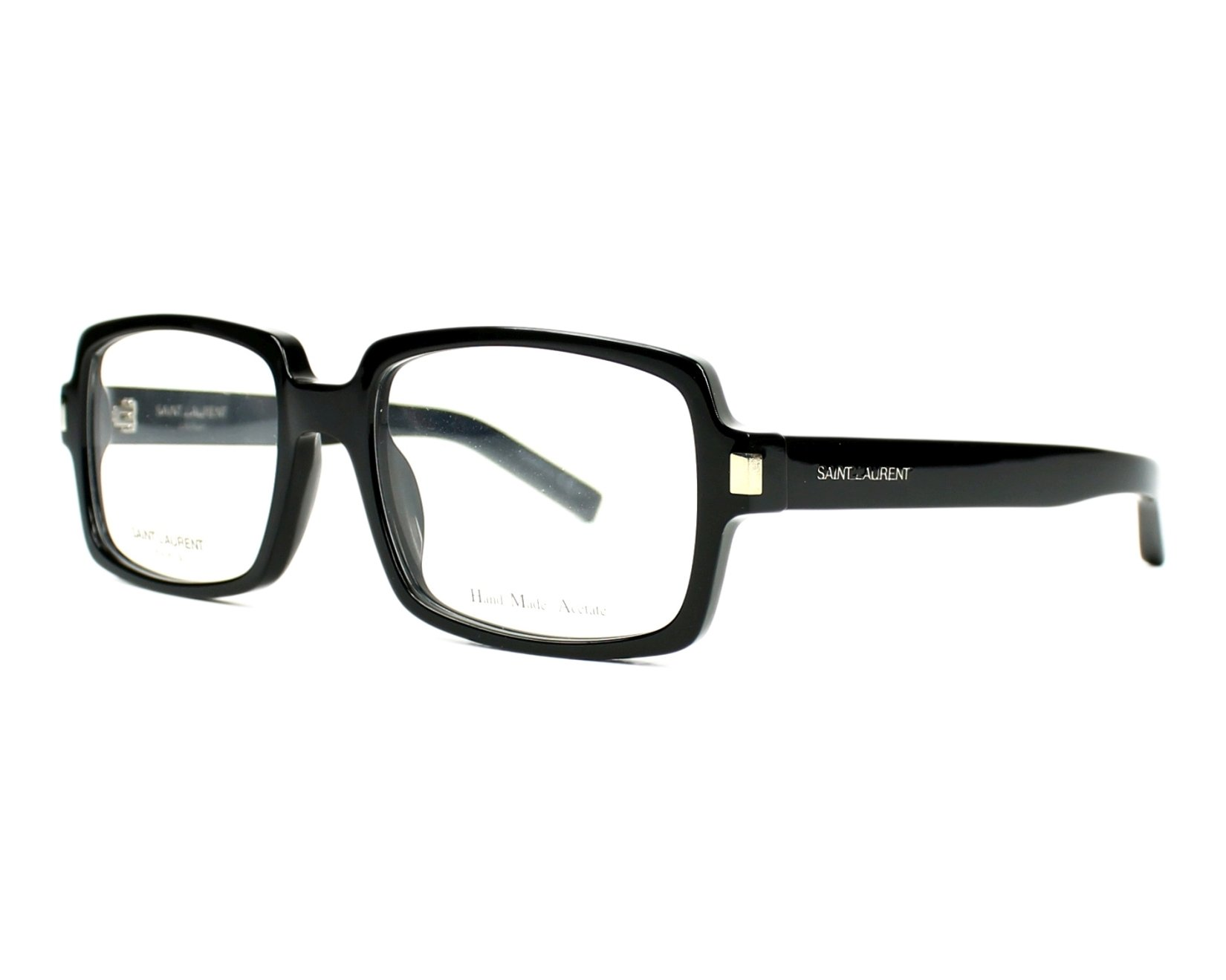 Yves saint laurent eyeglasses sl 66 807 black visio for Miroir yves saint laurent