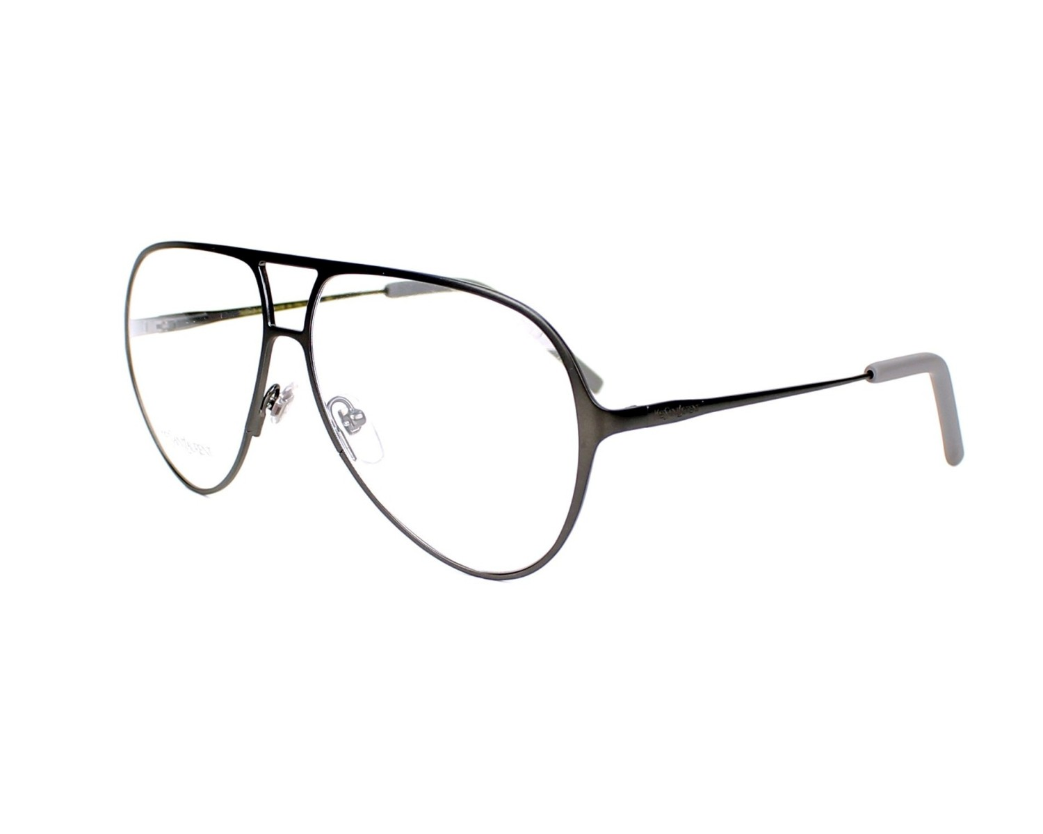 Yves saint laurent eyeglasses ysl 2325 cup grey visio for Miroir yves saint laurent