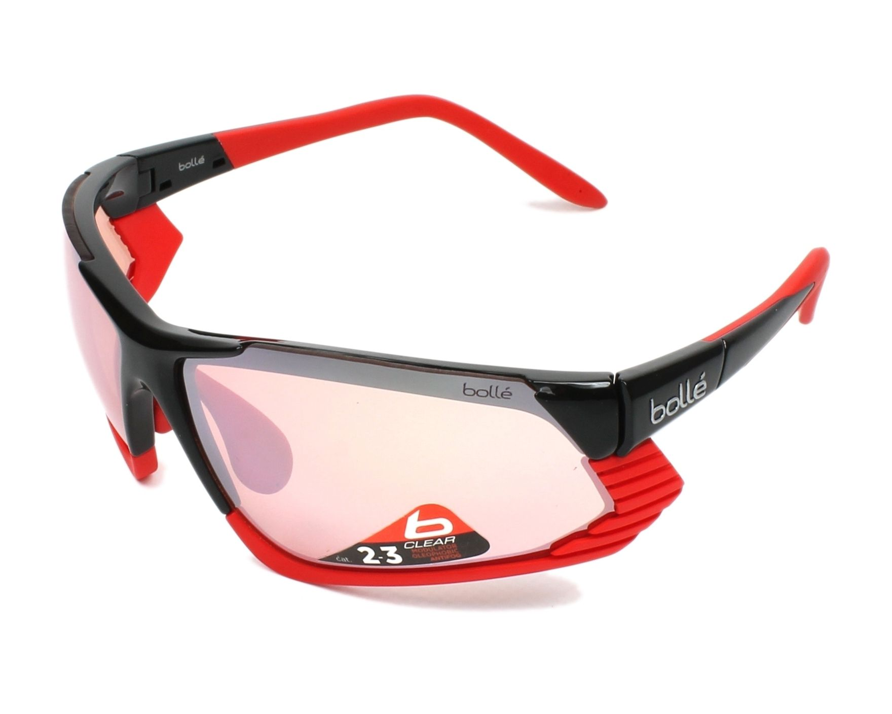 Bollé Cadence Shiny Black/Red 12088 IfeZ8