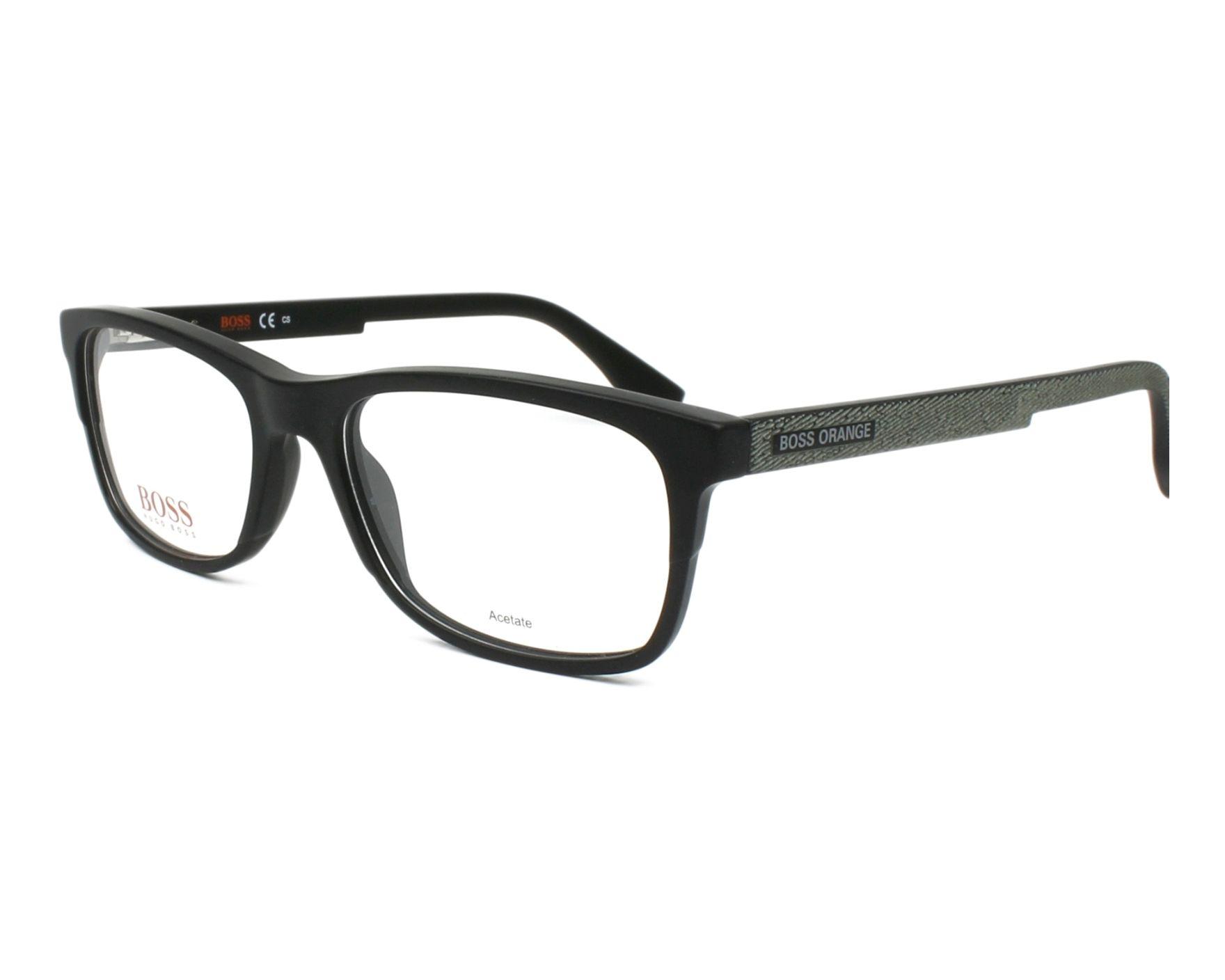 Boss Orange Eyeglasses Black BO-0292 807 - Visionet US