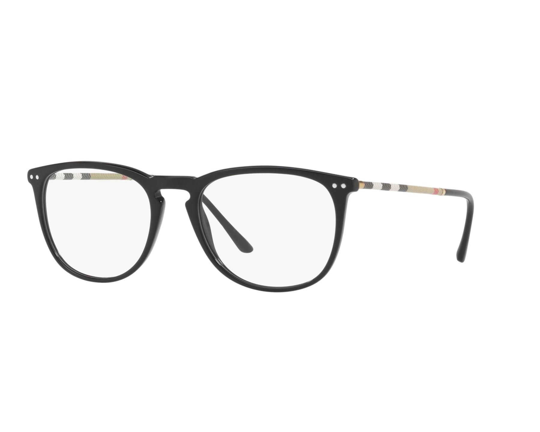 f7c7162e1b1b eyeglasses Burberry BE-2258-Q 3001 - Black