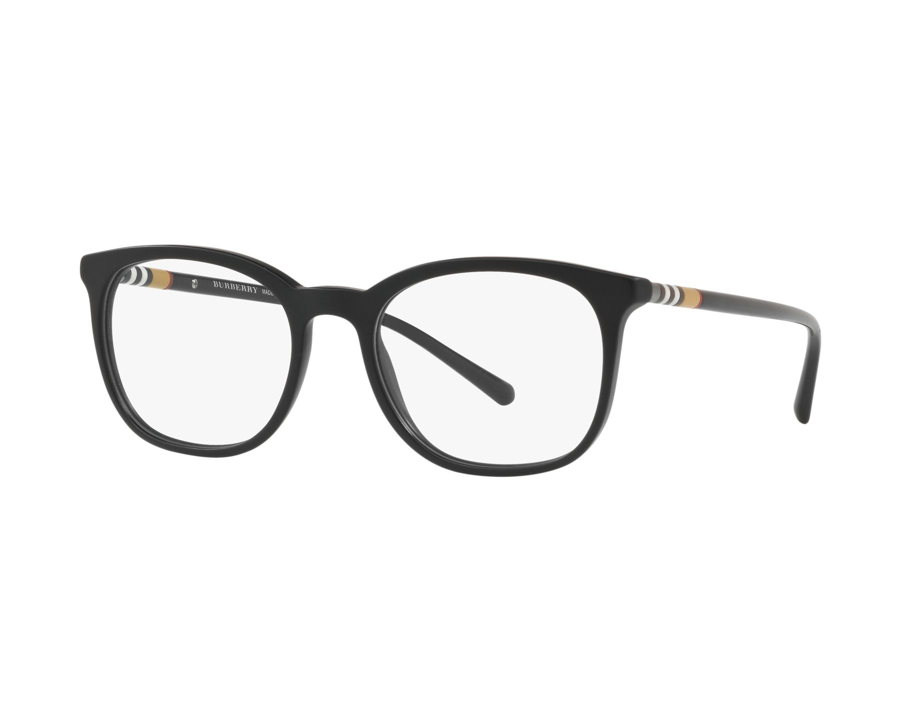 eyeglasses Burberry BE-2266 3464 54-19 Black Black 360 degree view 1
