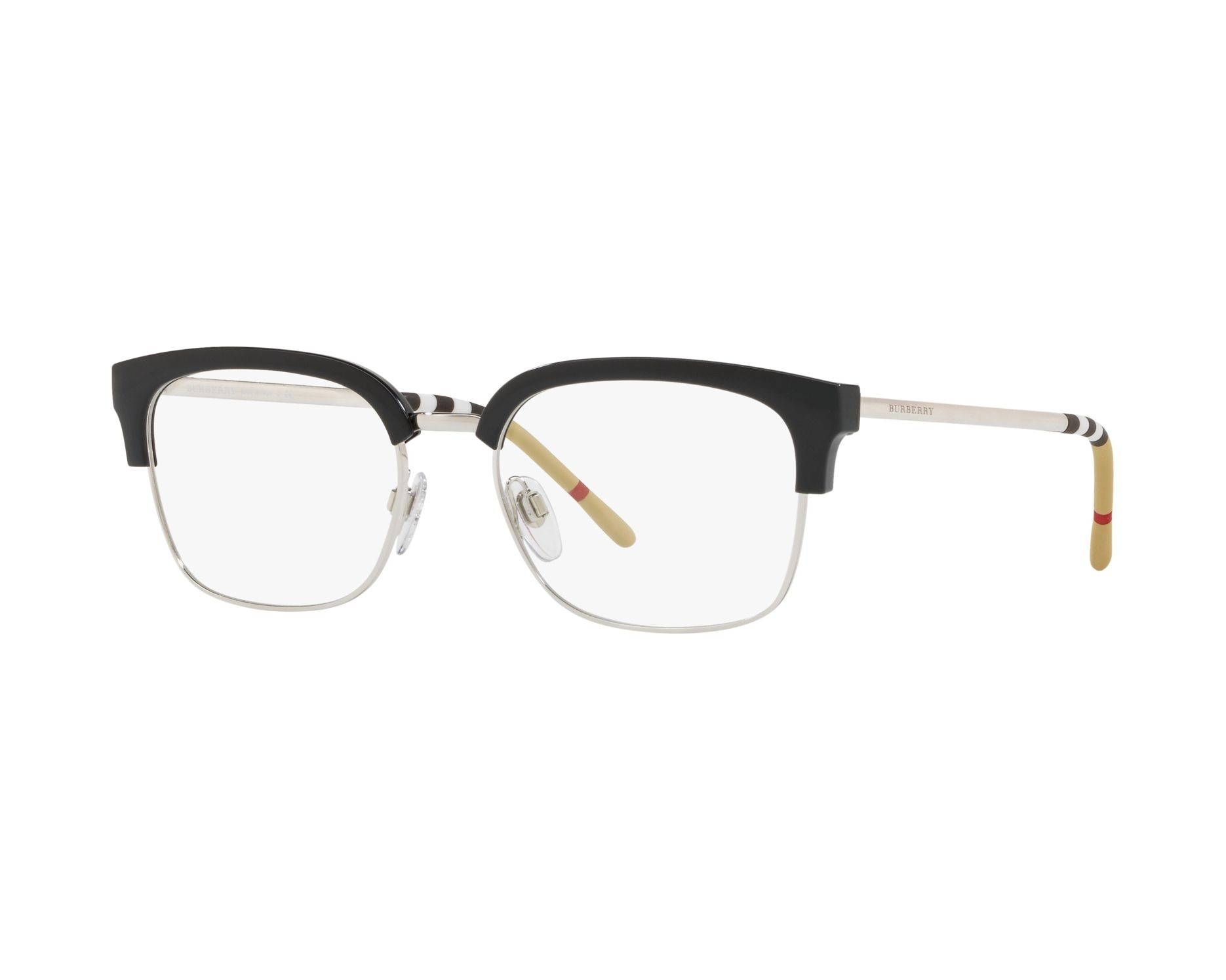 eyeglasses Burberry BE-2273 3001 54-18 Black Silver