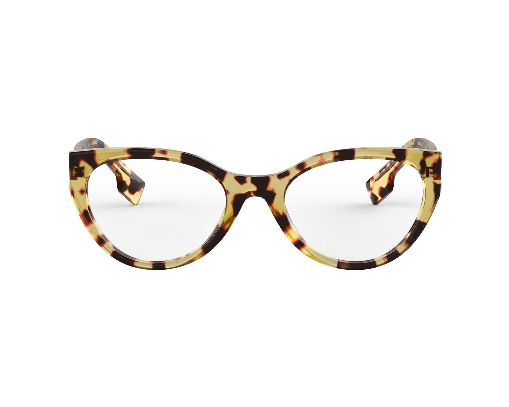 a79325c758dd eyeglasses Burberry BE-2289 3278 51-20 Havana Honey 360 degree view 1