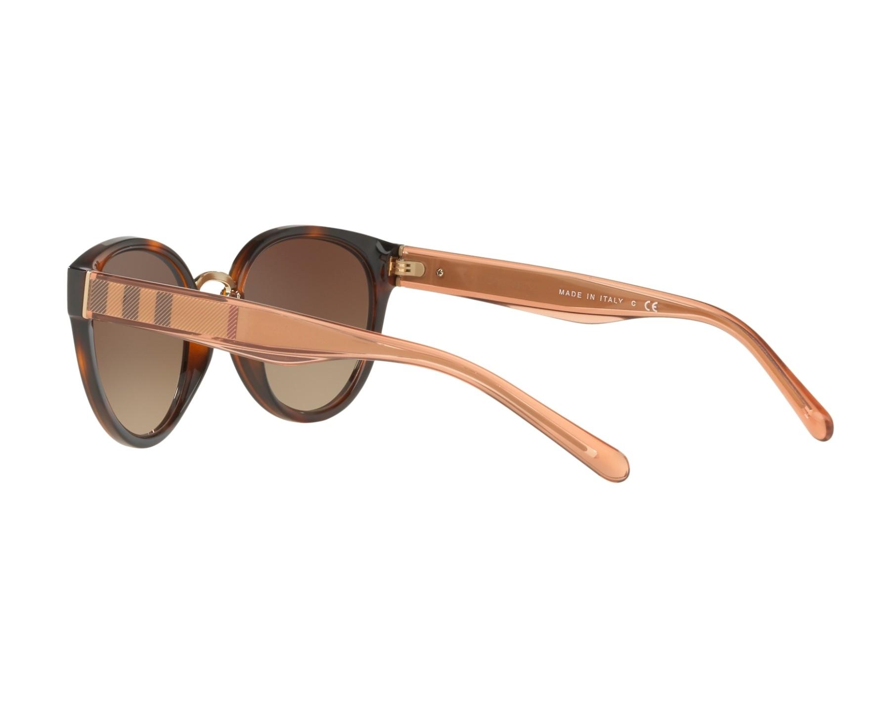 7495c43b569 Sunglasses Burberry BE-4249 331613 - Havana Beige 360 degree view 5
