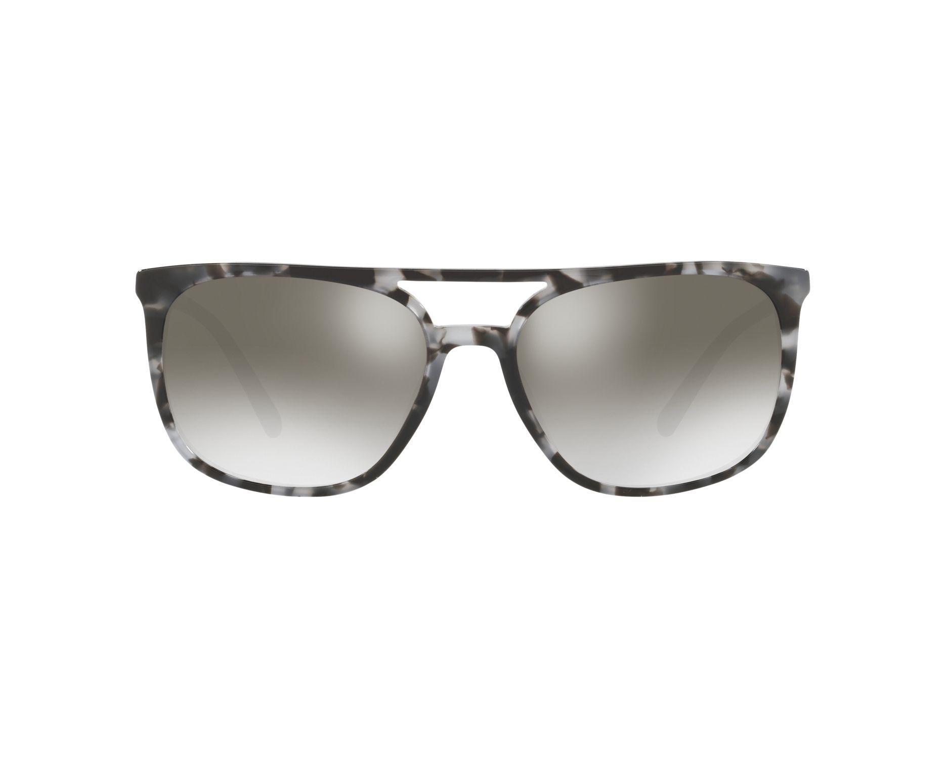 24cf2b2539c Sunglasses Burberry BE-4257 35336l 57-17 Grey Black 360 degree view 1