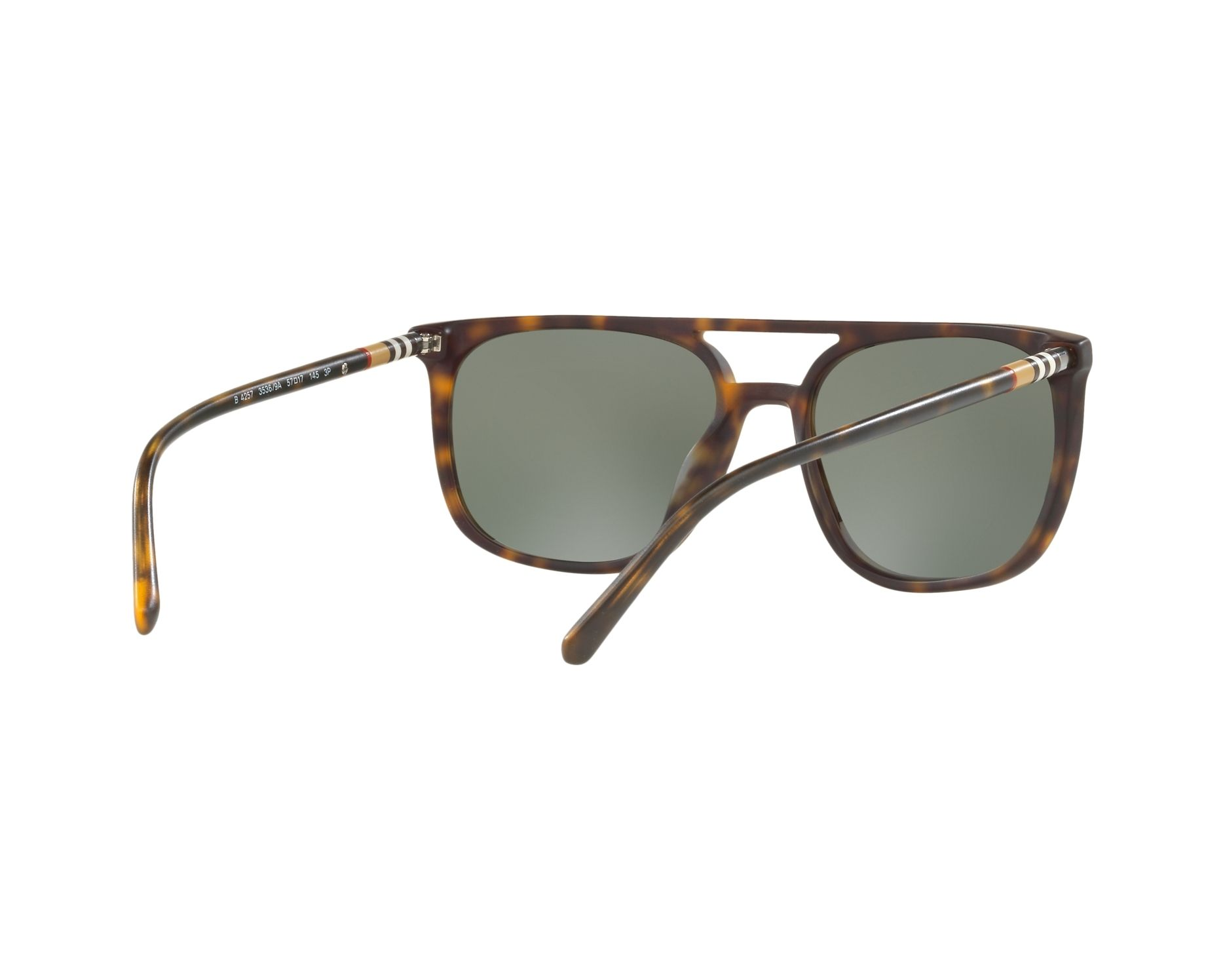 a9e5cf6c4db Sunglasses Burberry BE-4257 35369A 57-17 Havana 360 degree view 8