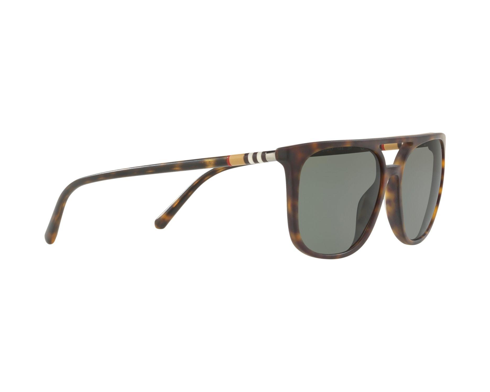 fed7e845639 Sunglasses Burberry BE-4257 35369A 57-17 Havana 360 degree view 11