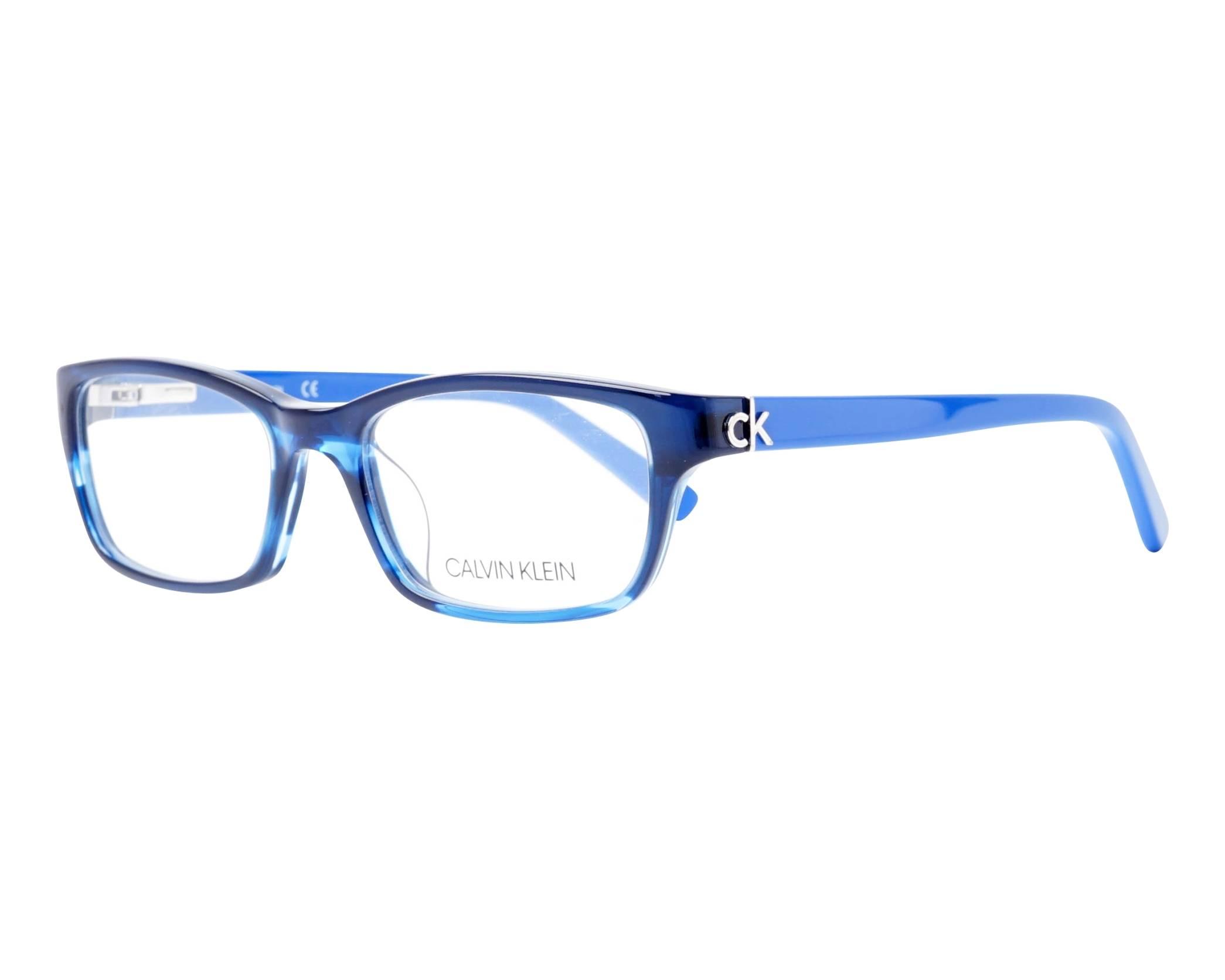 a67514a144 eyeglasses Calvin Klein CK-5691 415 50-17 Blue Blue profile view