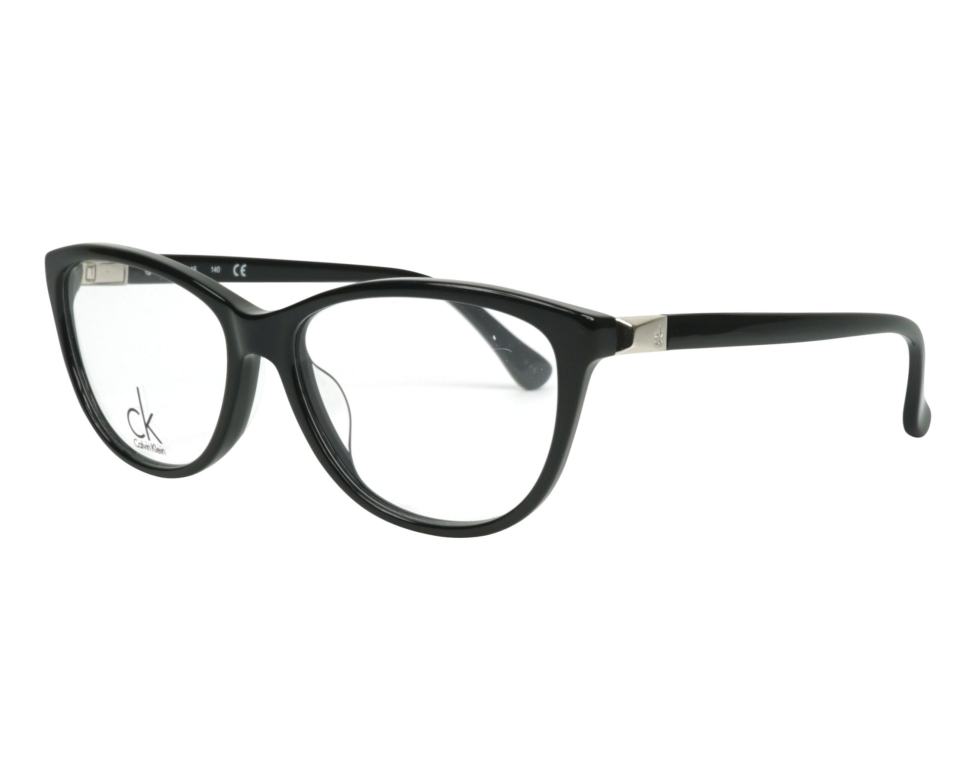 eyeglasses Calvin Klein CK-5814 001 53-15 Black profile view