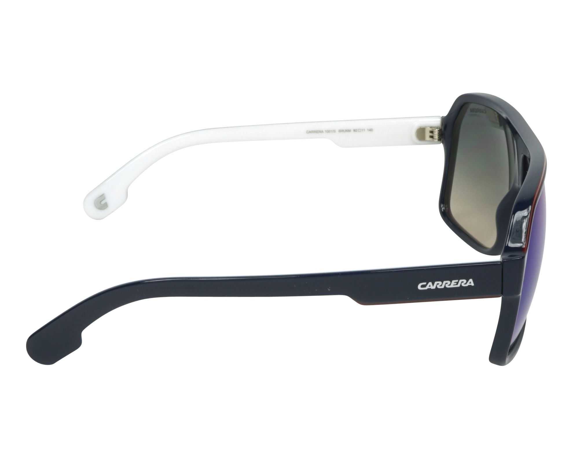 Sunglasses Carrera 1001-S 8RU KM 62-11 Blue White side view cd18b98bbba9