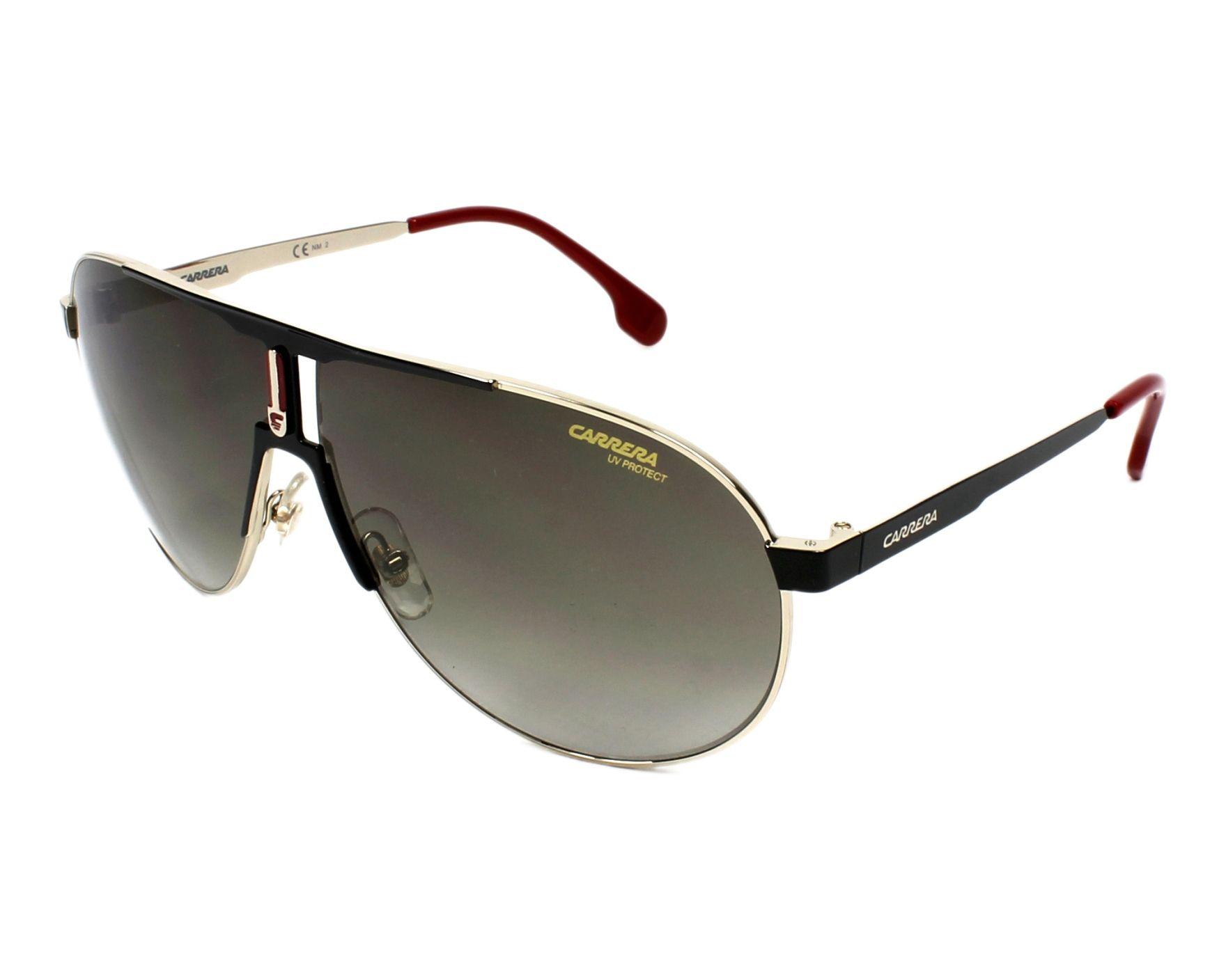 Sunglasses Carrera 1005-S 2M2 HA 66-9 Black Gold profile view e8c38112912