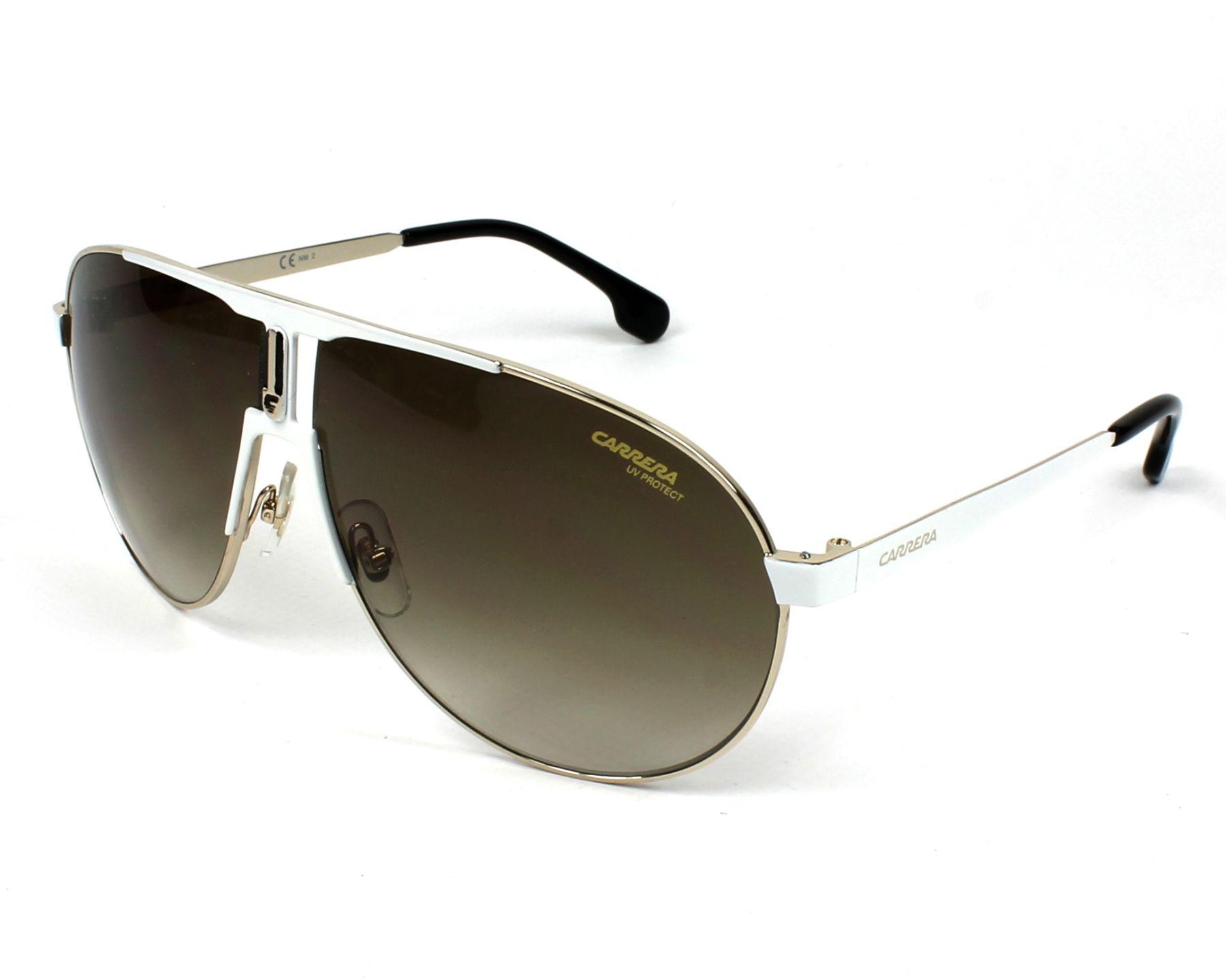 Sunglasses Carrera 1005-S B4E HA 66-9 White Gold profile view 6285d9c4d1c