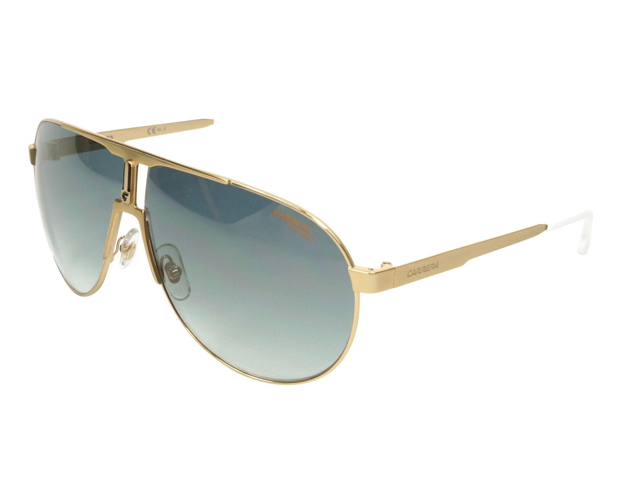 Sunglasses Carrera 1005-S J5G EZ 66-9 Gold profile view e99adc73861