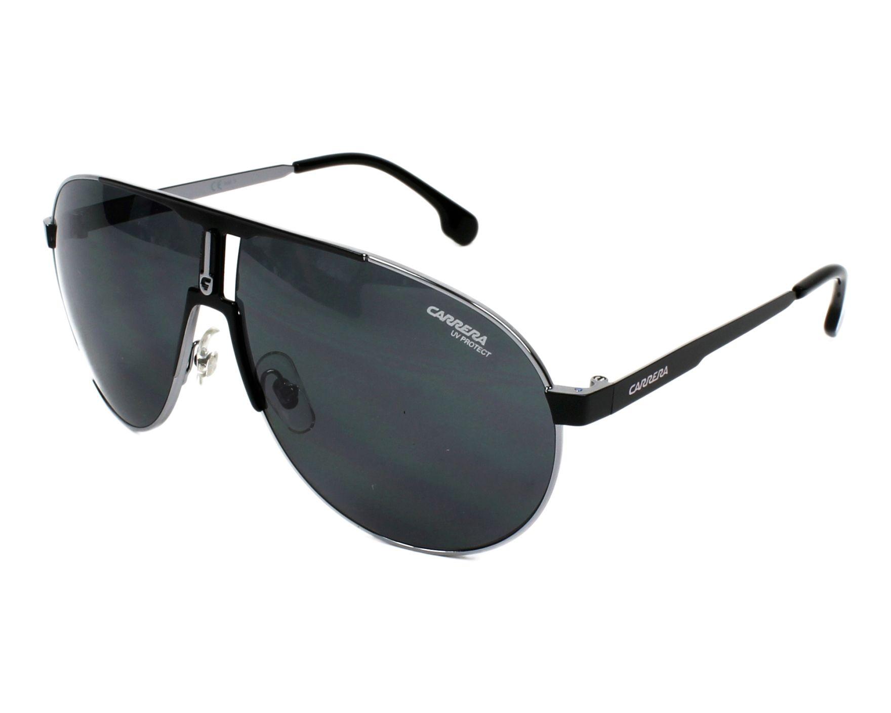 Sunglasses Carrera 1005-S TI7/IR 66-9 Ruthenium Black profile view
