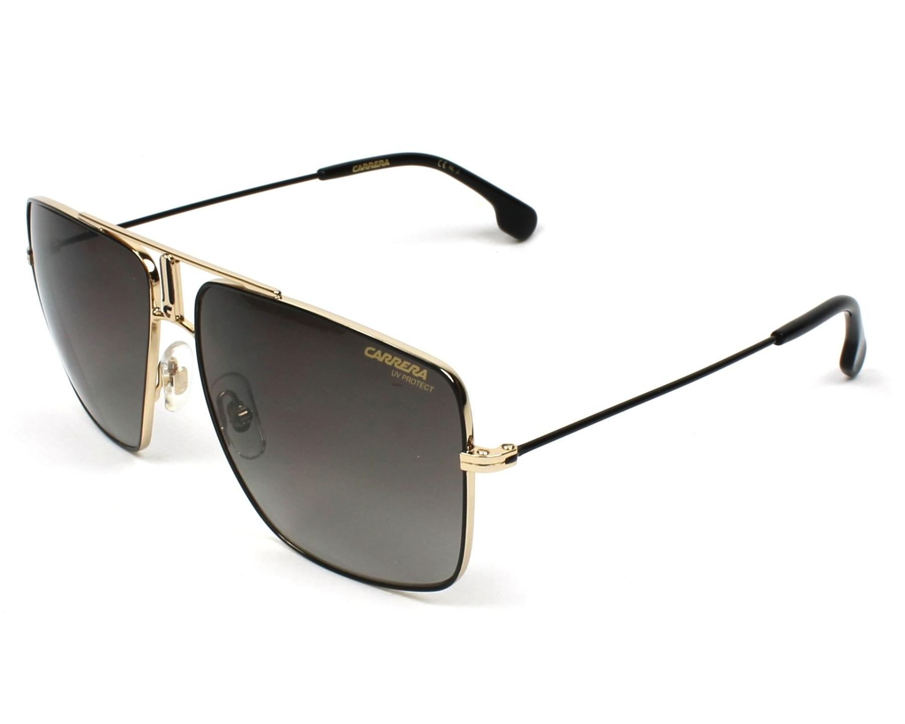 bc4560121954b5 Sunglasses Carrera 1006-S 2M2 HA 60-14 Black Gold profile view