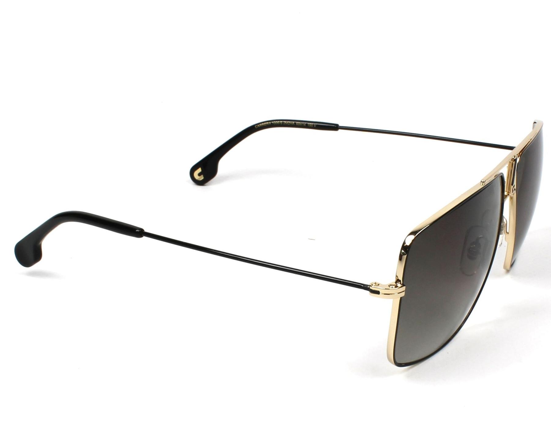 f04dfca25ae678 Sunglasses Carrera 1006-S 2M2 HA 60-14 Black Gold side view