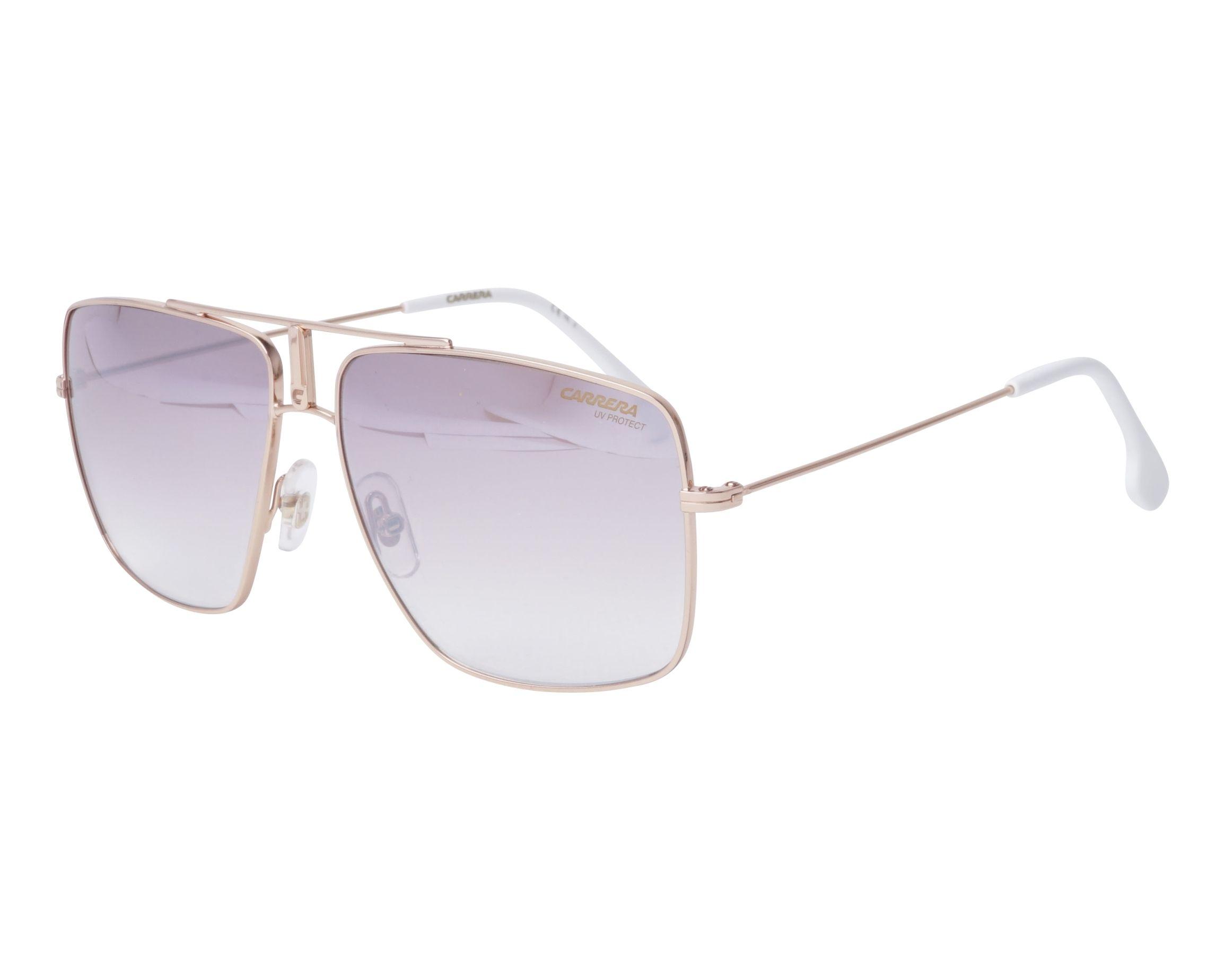 5081e2f5606c11 Sunglasses Carrera 1006-S DDBNQ - Gold Copper profile view
