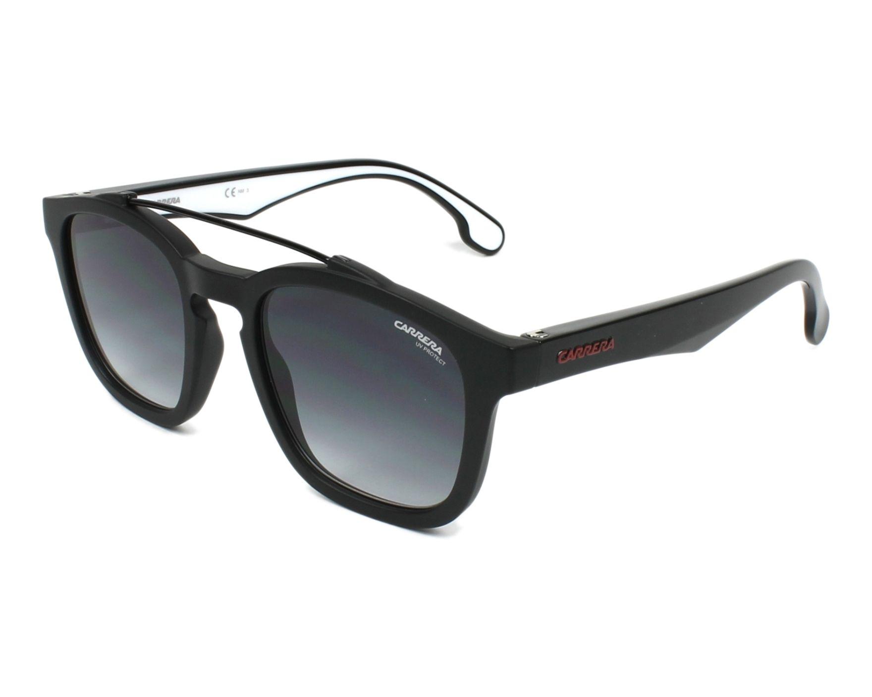 74c627ed08 Sunglasses Carrera 1011-S 003 9O 52-22 Black Black profile view