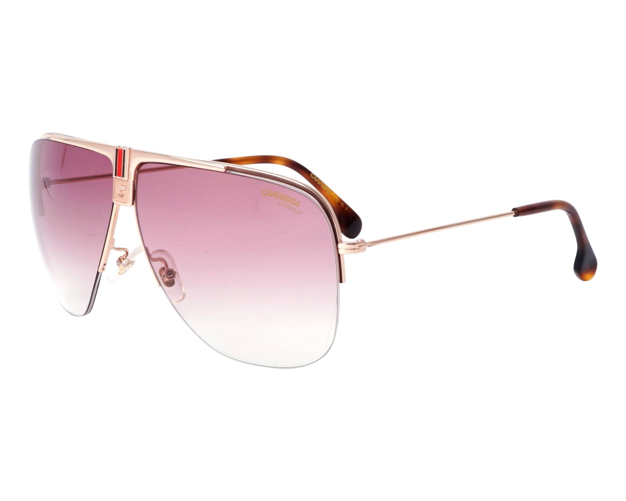 9c4b3fa1ed Sunglasses Carrera 1013-S DDB3X 64-9 Rose gold profile view
