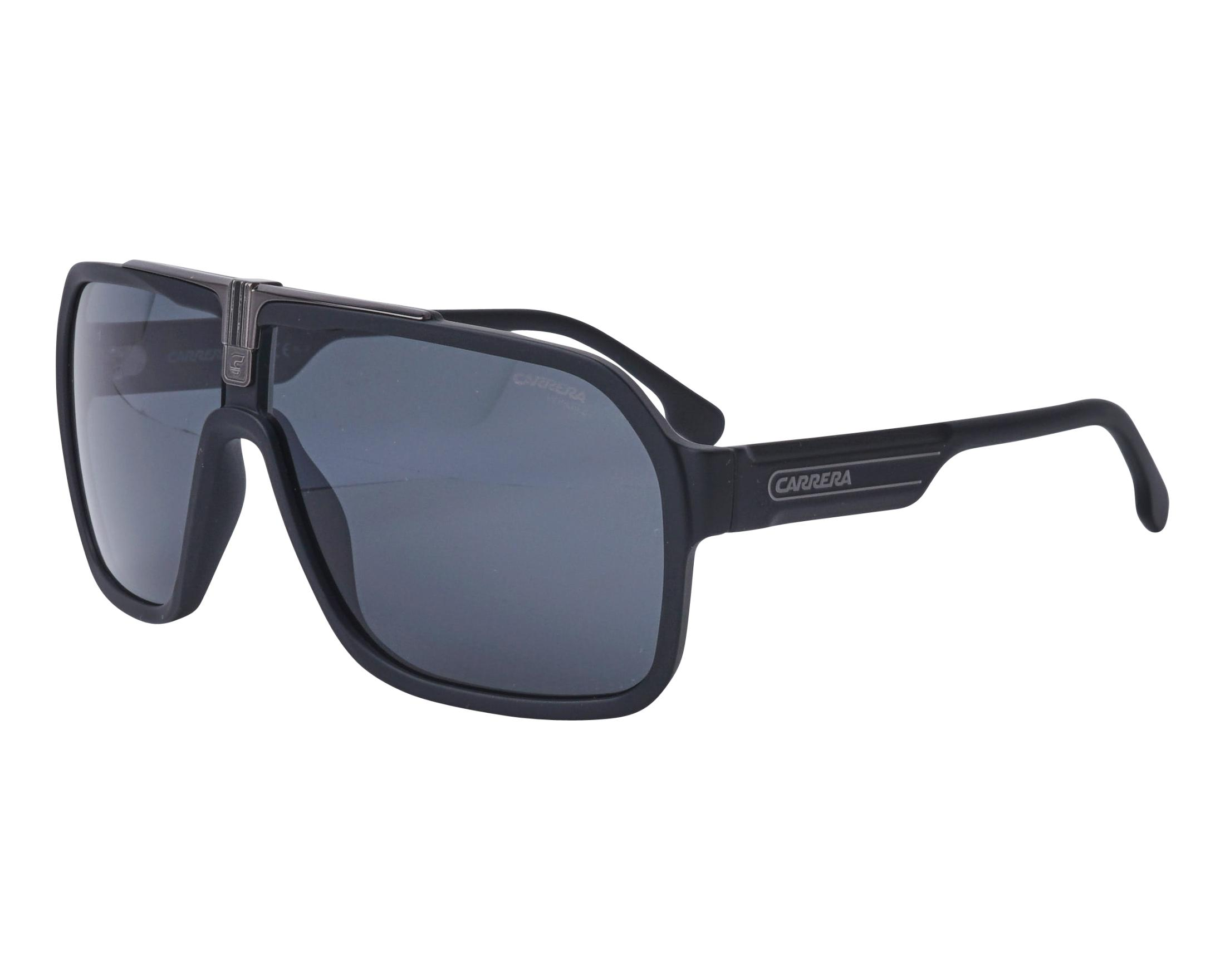 7e5eaeaee Sunglasses Carrera 1014-S 0032K 64-10 Black Gun profile view