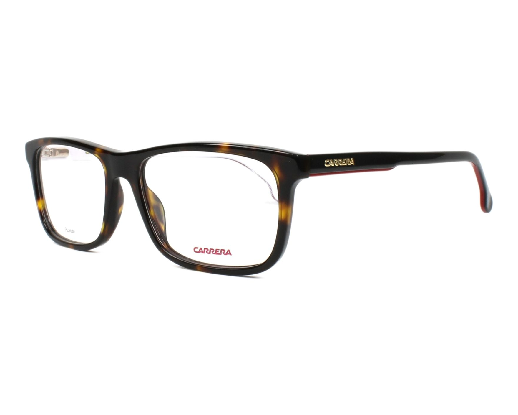 eyeglasses Carrera 1106-V 086 55-17 Havana Black profile view