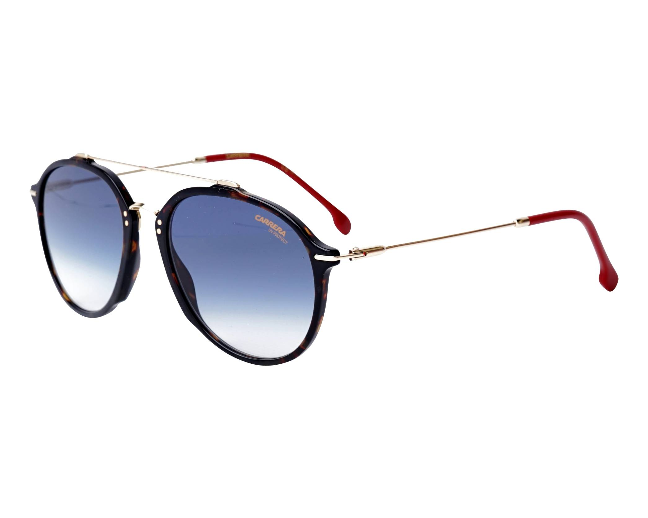 cfea91220c Sunglasses Carrera 171-S O6308 55-19 Havana Gold profile view