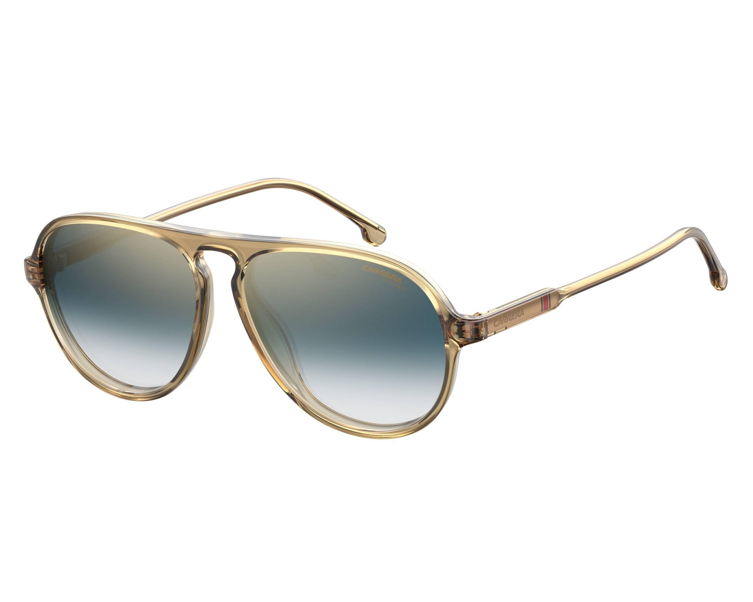 6902cb681b8d Sunglasses Carrera 198-S 40G1V 57-14 Yellow profile view