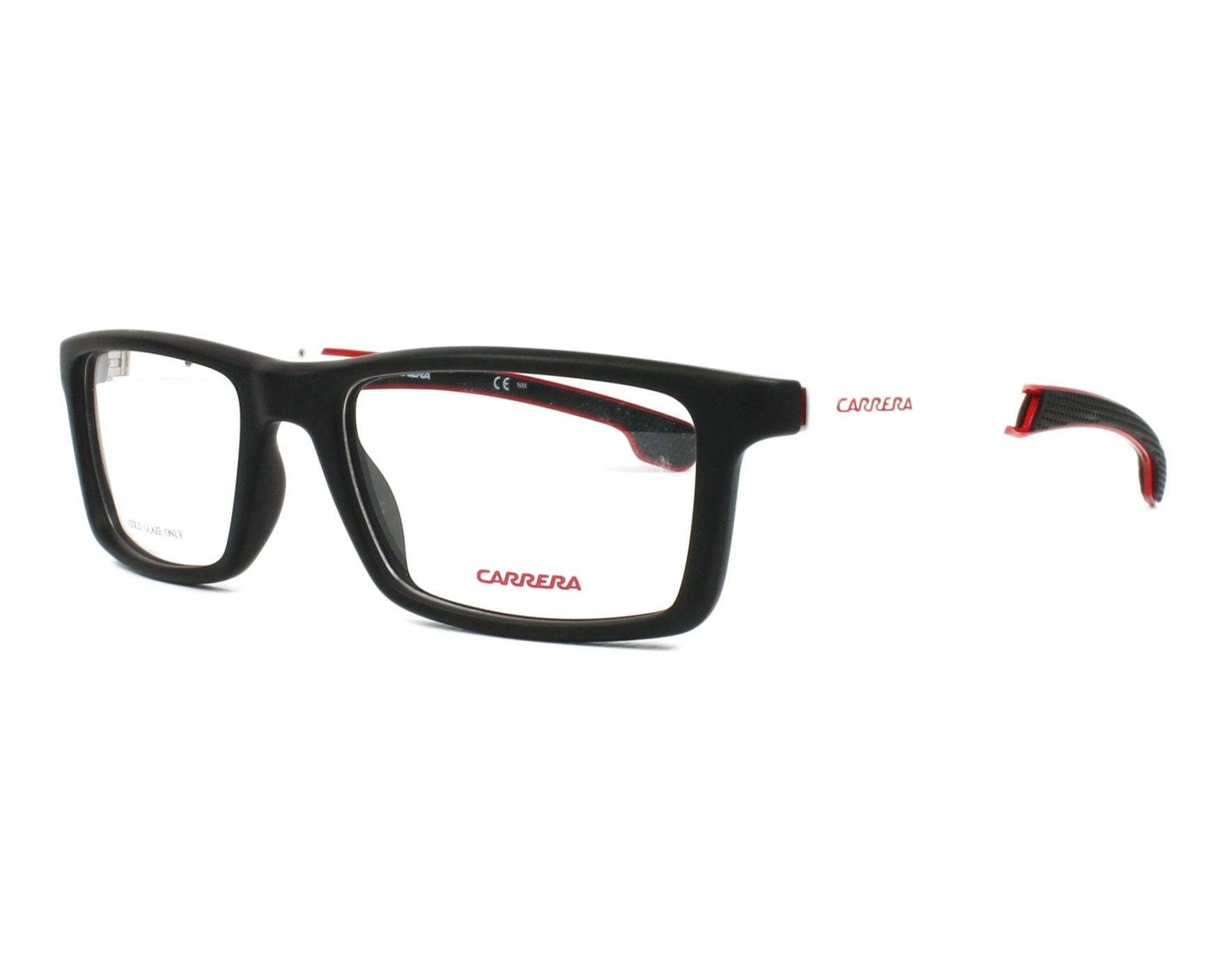 193c2bf8f4438 eyeglasses Carrera 4406-V 003 53-18 Black White profile view