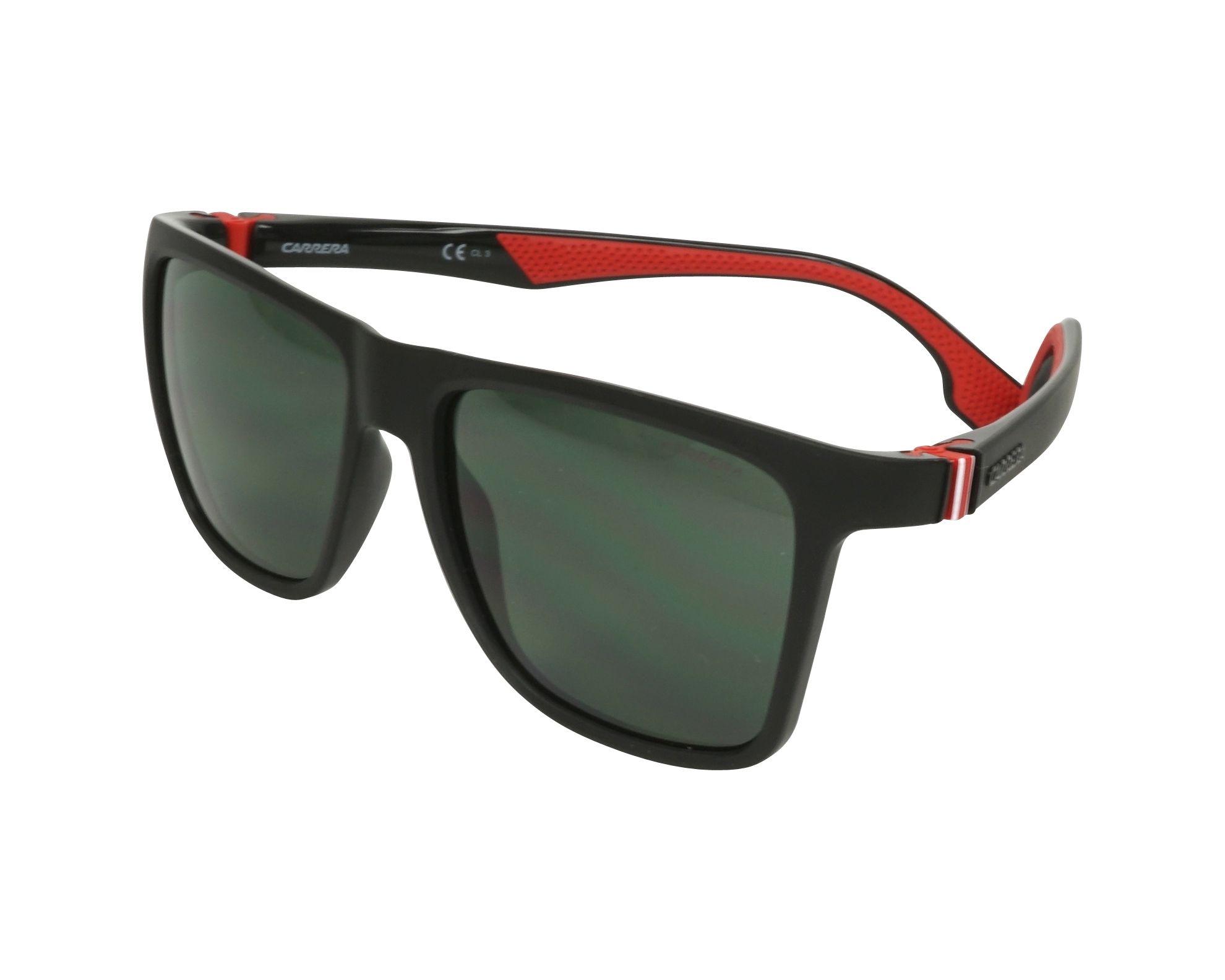 Sunglasses Carrera 5047-S 807 QT 56-17 Black Red profile view 9490ae405e