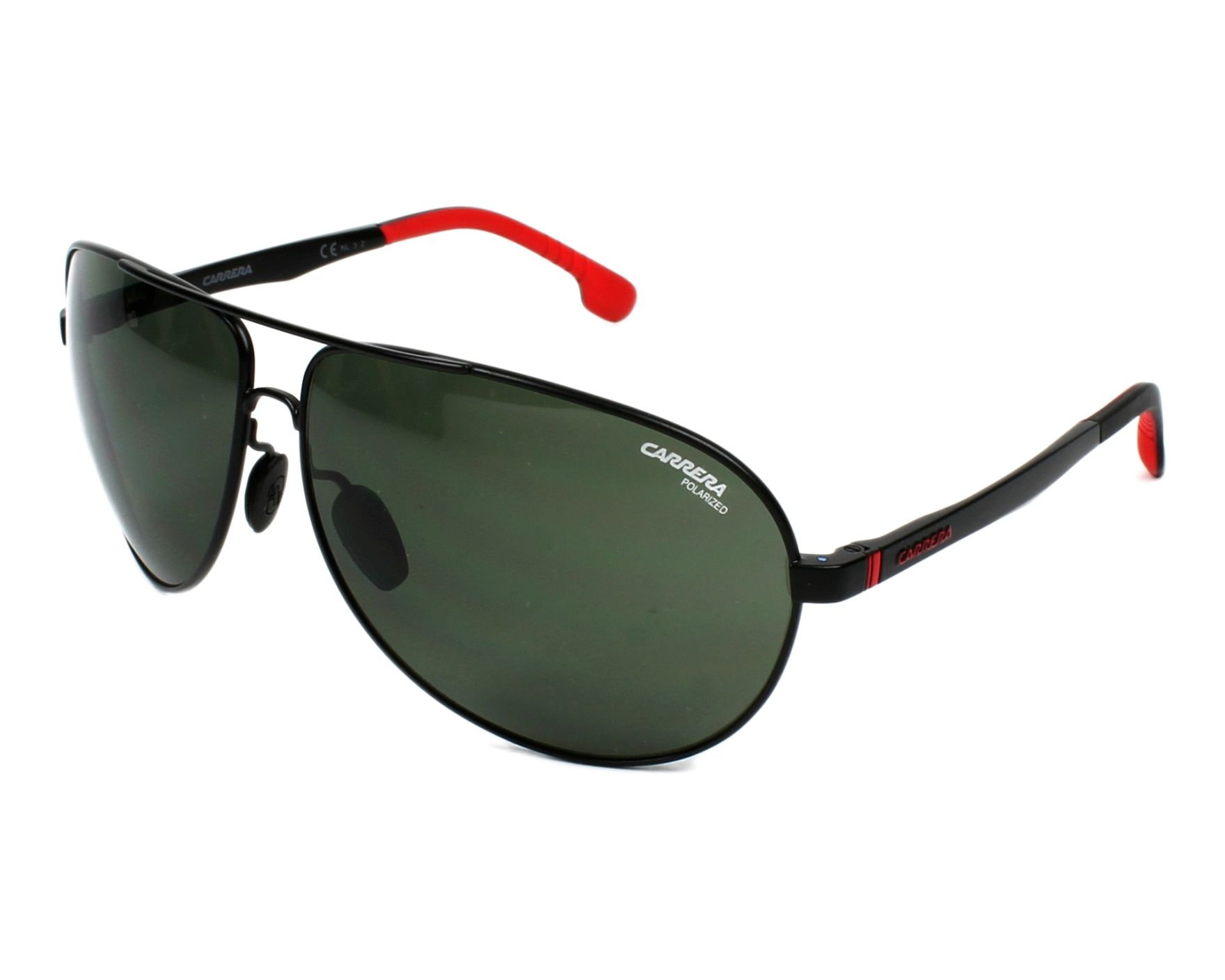 Carrera 8023/S 003/UC 65 matte black / green polarized jD8I17Kdl