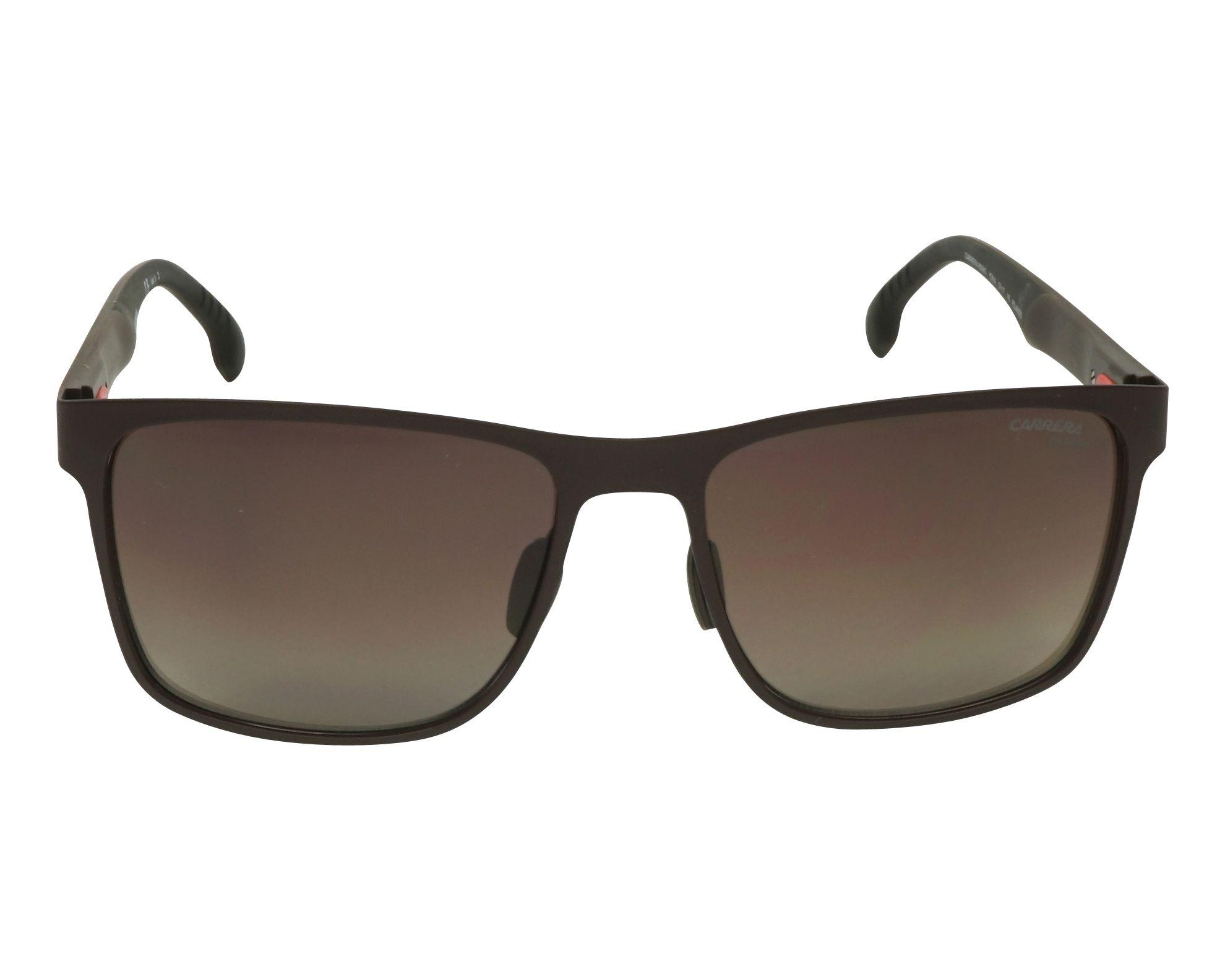e725bce63b4f5 Sunglasses Carrera 8026-S YZ4 LA 57-17 Brown front view