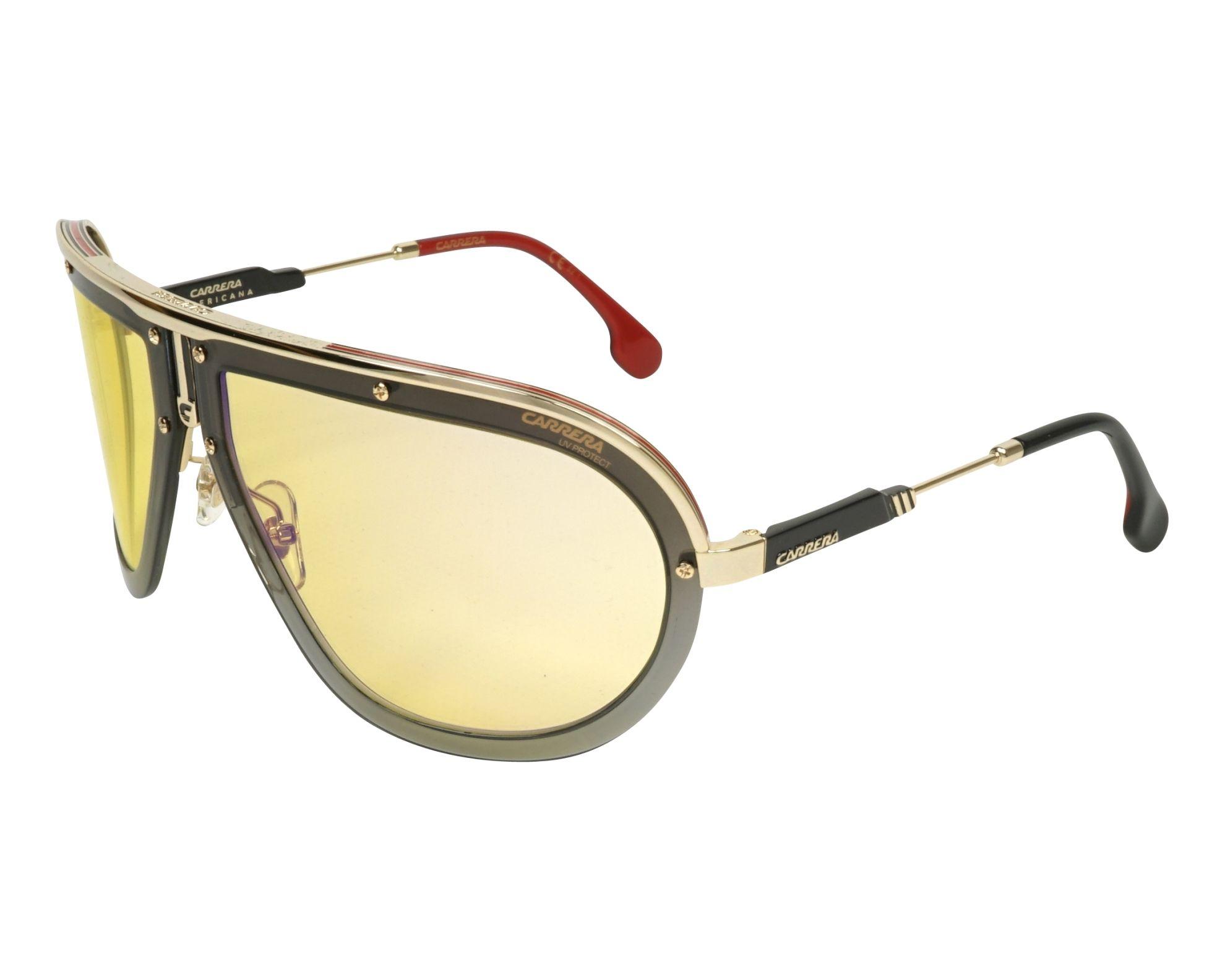 Carrera Sunglasses Gold with Yellow Lenses AMERICANA DYG/CU ...