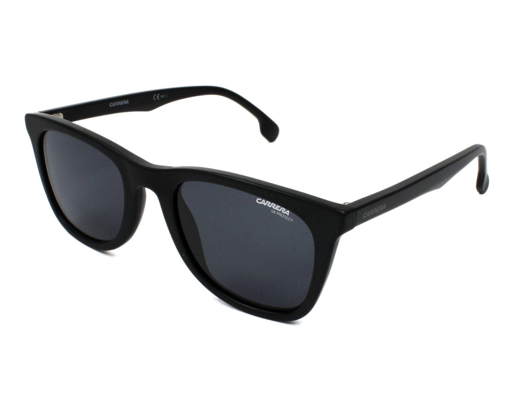 Carrera 134/S 003/IR 51 matte black / grey blue WrCajp