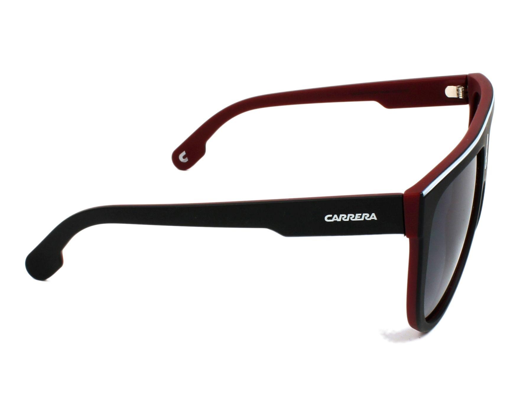 82fd1f400c Sunglasses Carrera FLAGTOP BLX 9O 60-15 Black Bordeaux side view