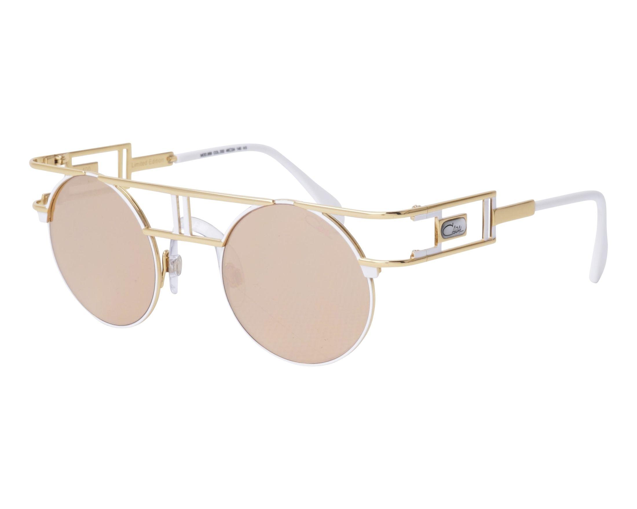 cbb1d111eda Sunglasses Cazal 958 332 - White Gold profile view