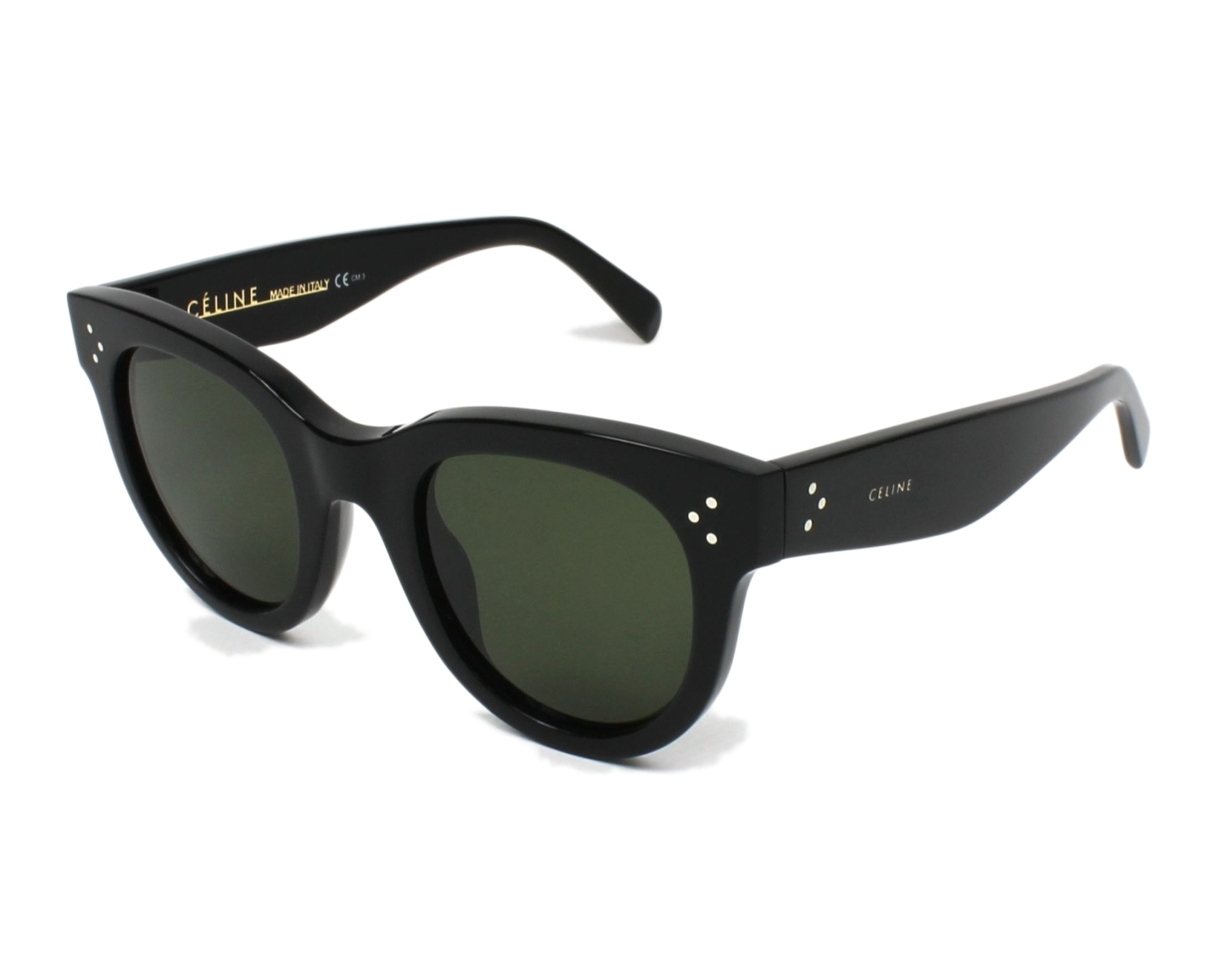 ca85b71e6bb thumbnail Sunglasses Céline CL-41053-S 807 1E - Black profile view