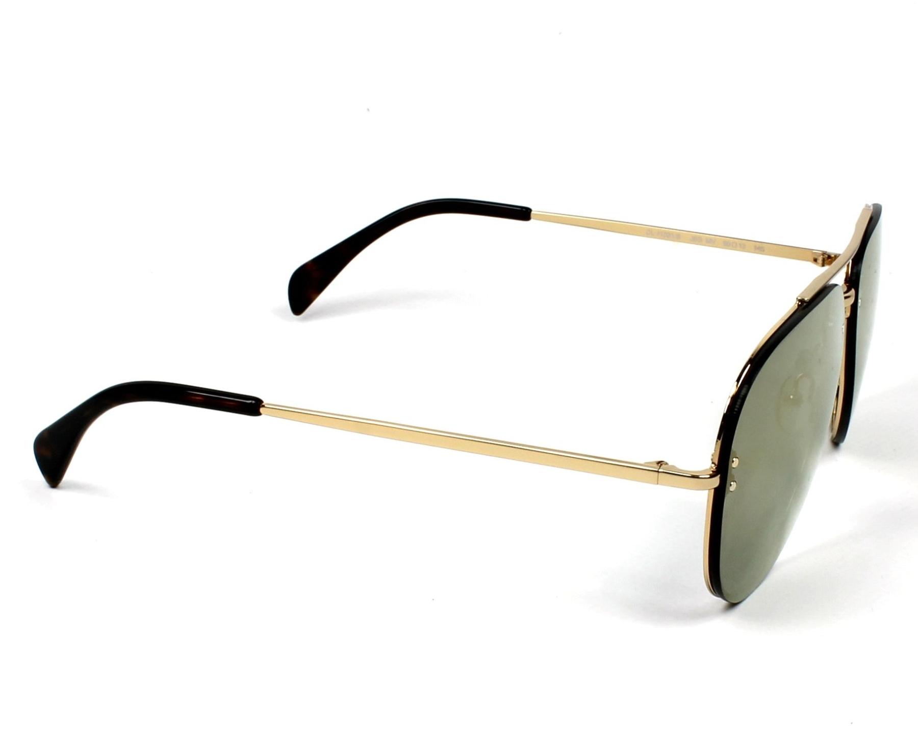 0849f799d44 Sunglasses Céline CL-41391 J5G MV - Gold side view